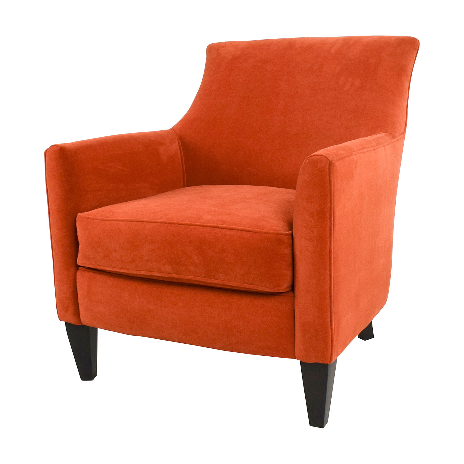 ... Crate And Barrel Crate U0026 Barrel Sunset Clara Chair Accent Chairs ...