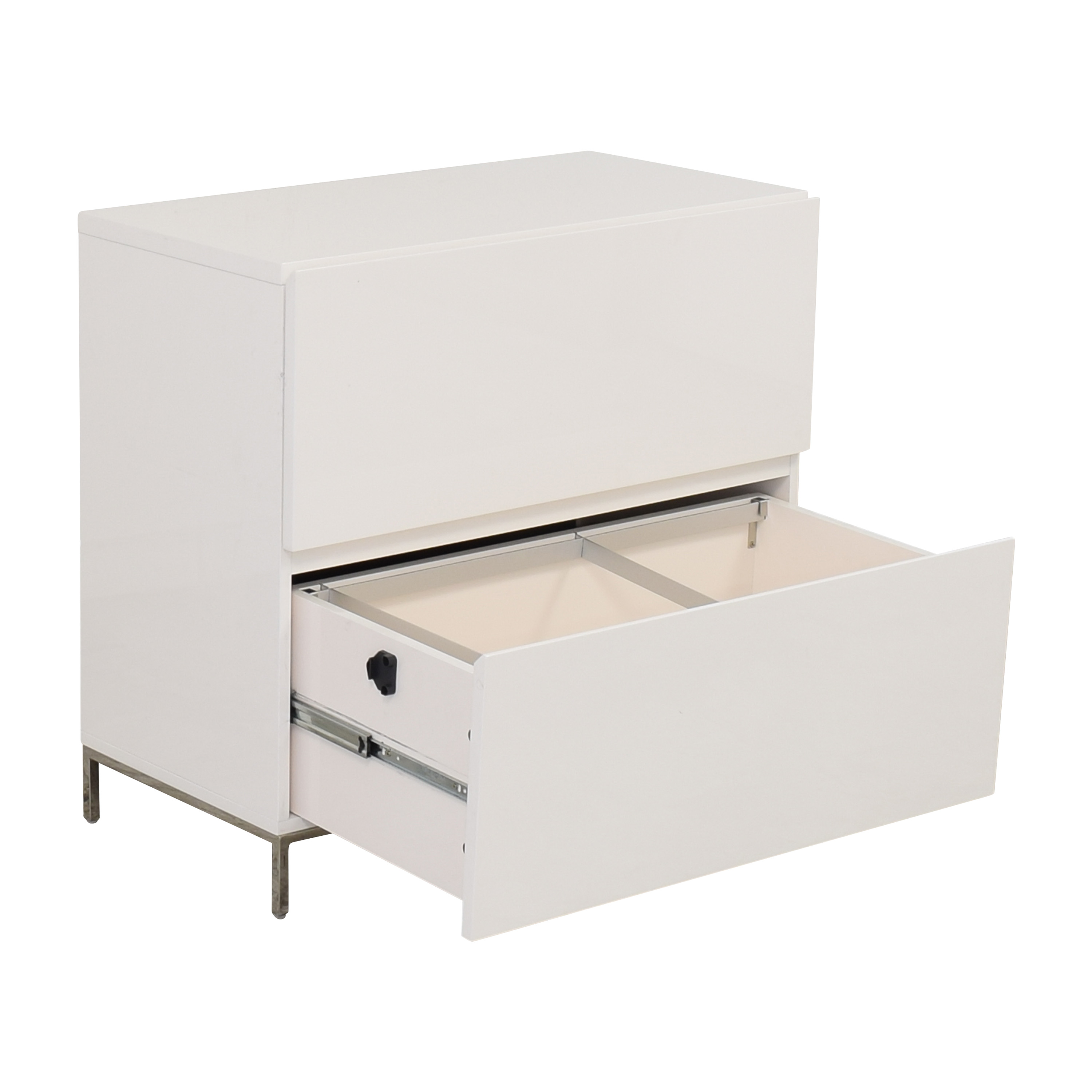 buy West Elm Lacquer Storage Modular Lateral File Cabinet West Elm Filing & Bins