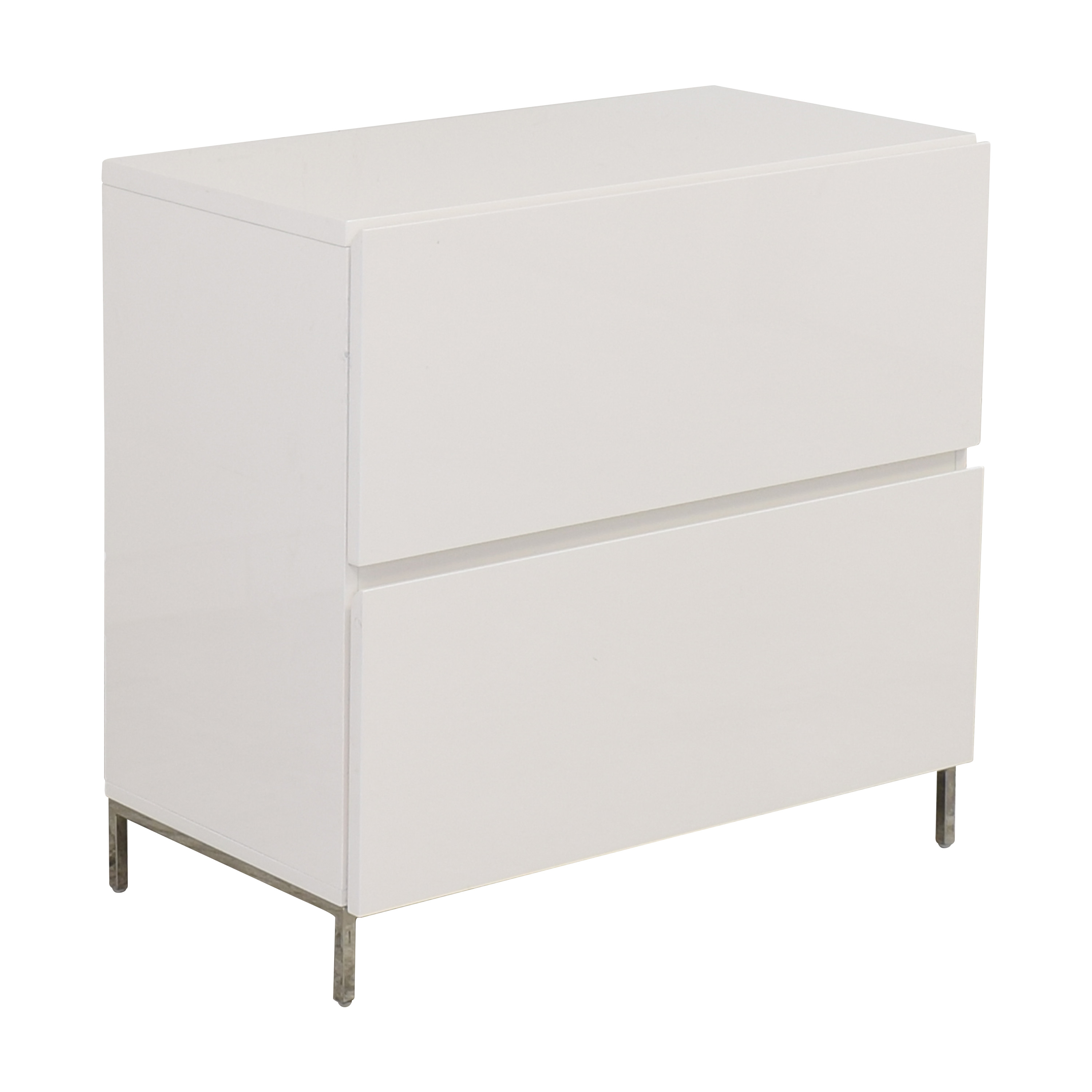 West Elm Lacquer Storage Modular Lateral File Cabinet / Storage