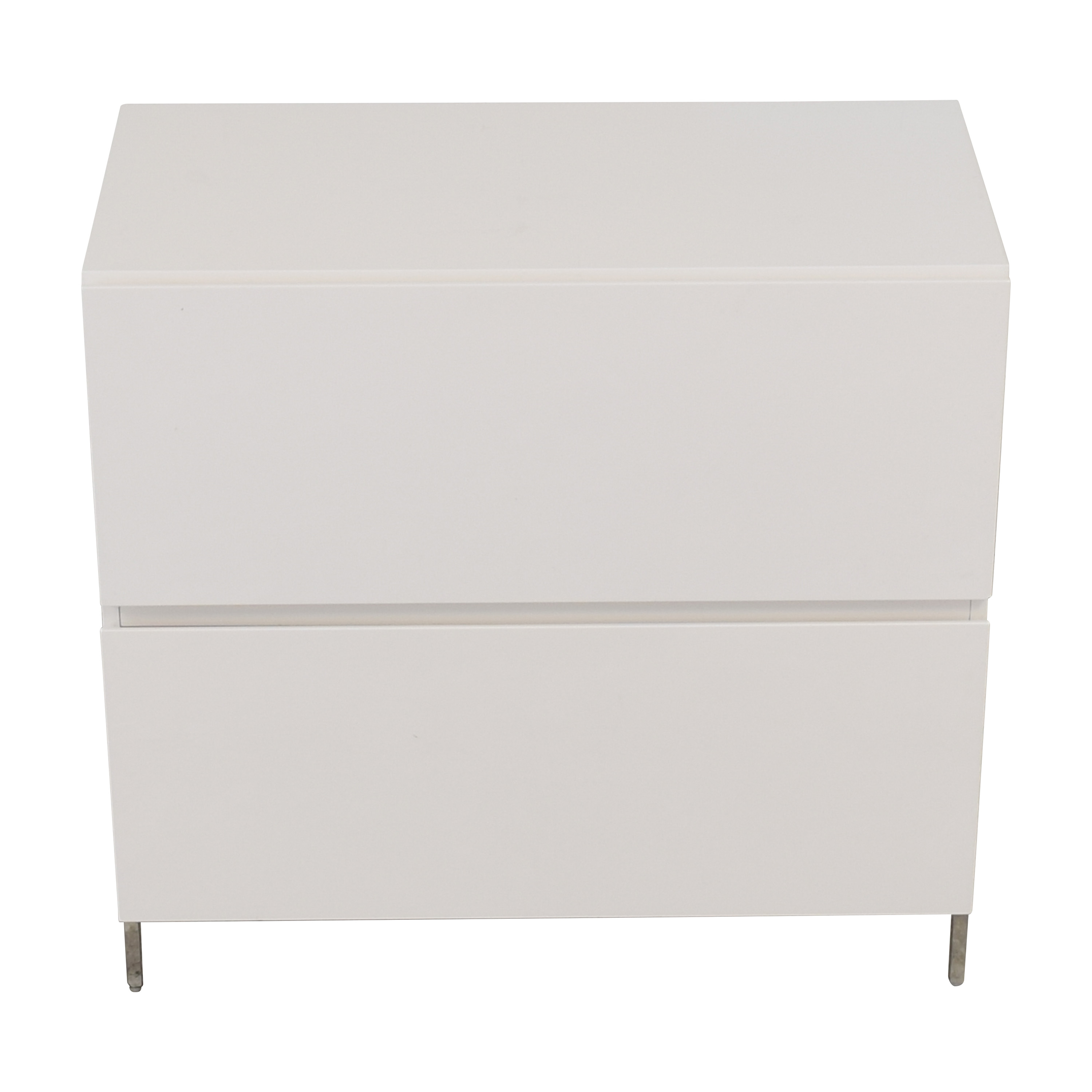 West Elm West Elm Lacquer Storage Modular Lateral File Cabinet nyc