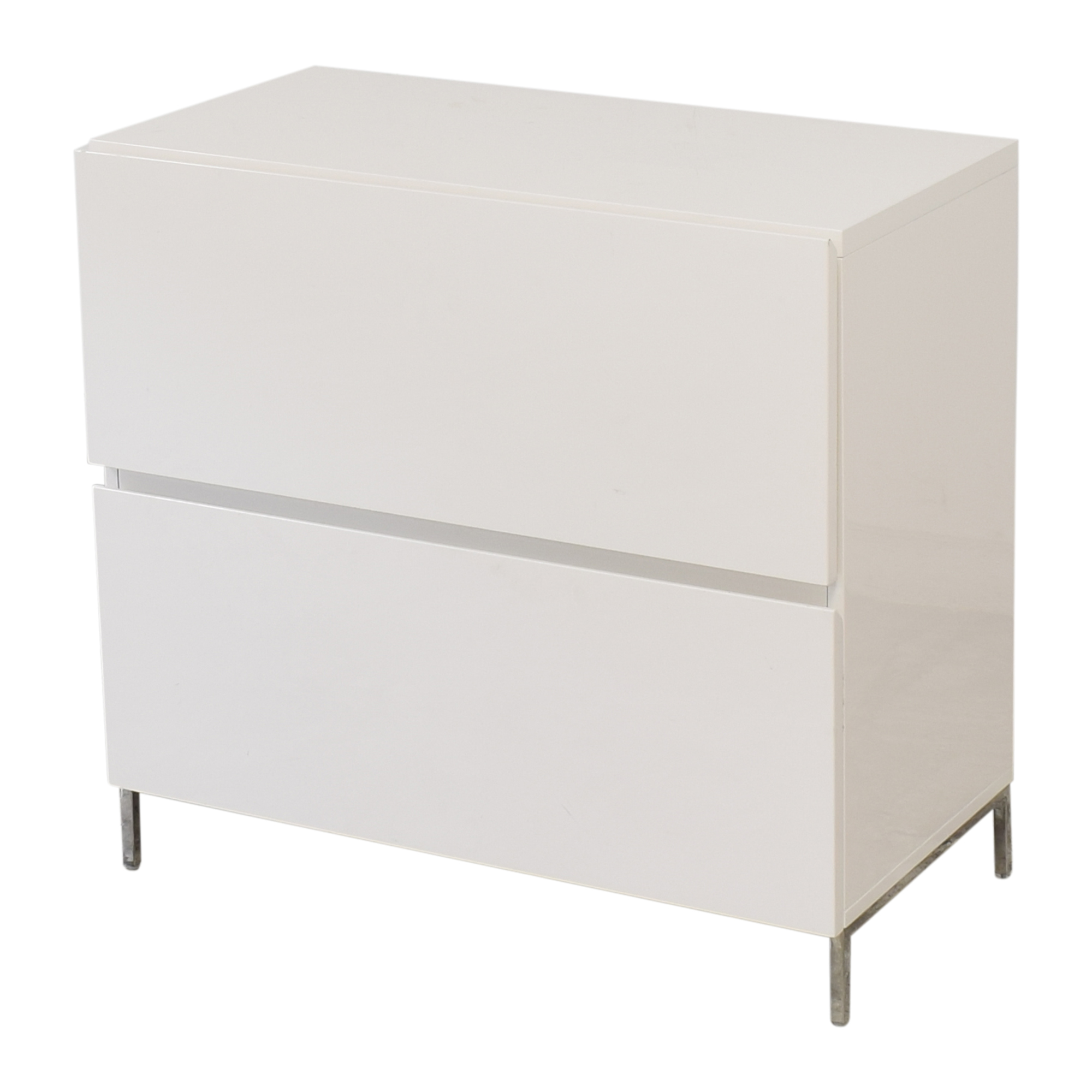 buy West Elm Lacquer Storage Modular Lateral File Cabinet West Elm Storage