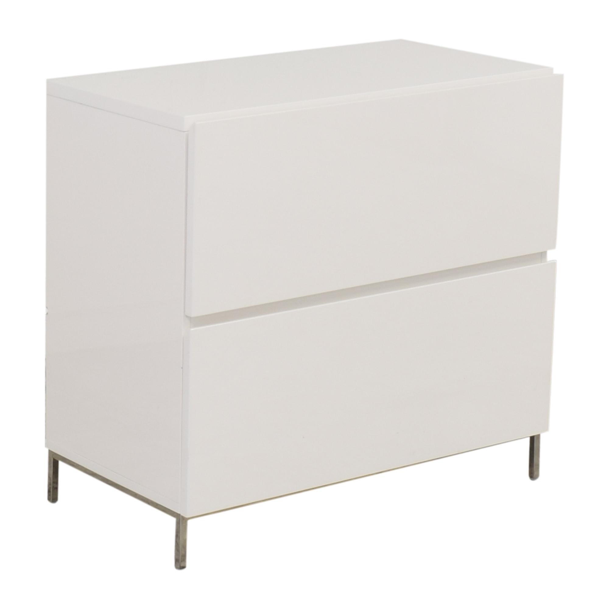 West Elm West Elm Lacquer Storage Modular Lateral File Cabinet