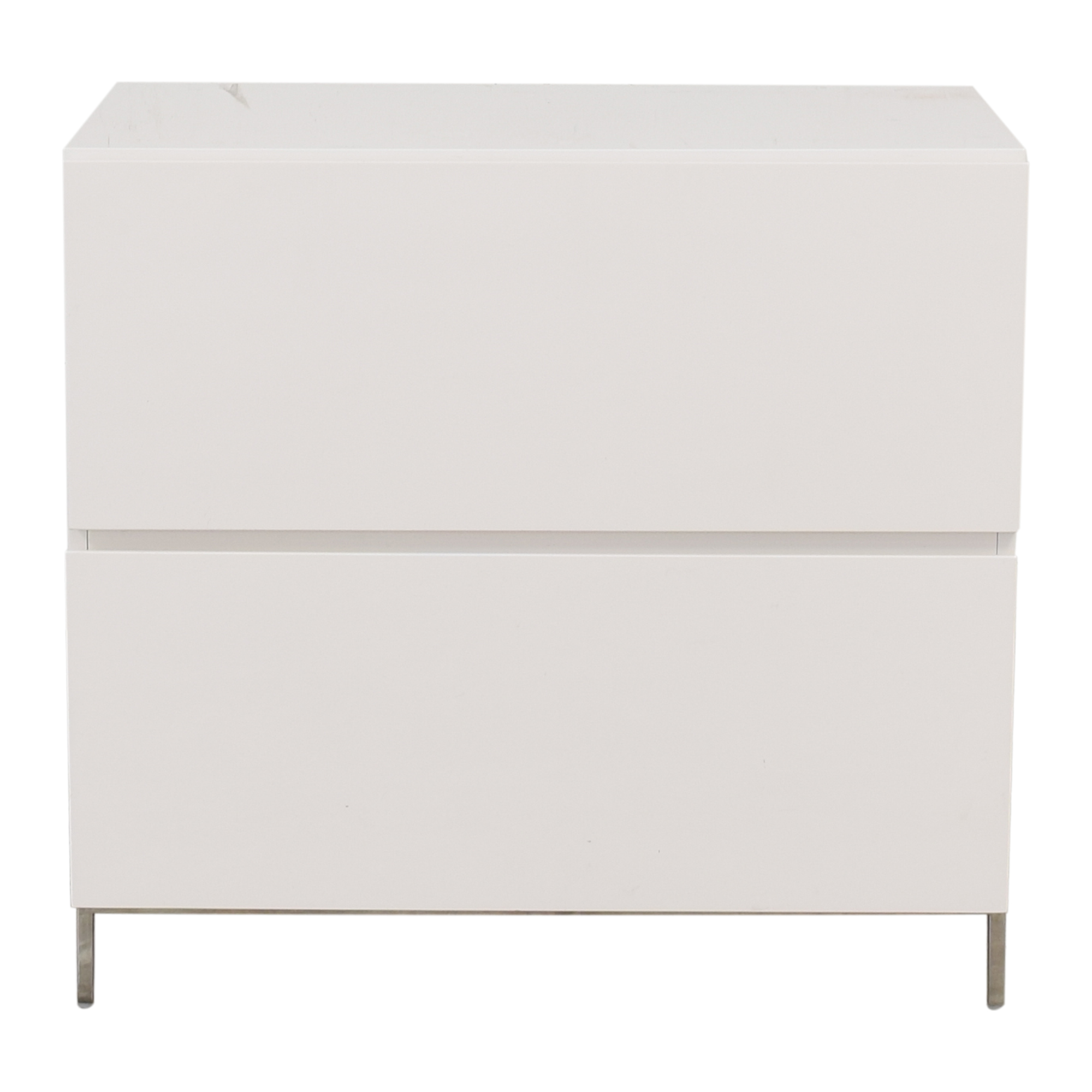 West Elm Lacquer Storage Modular Lateral File Cabinet West Elm