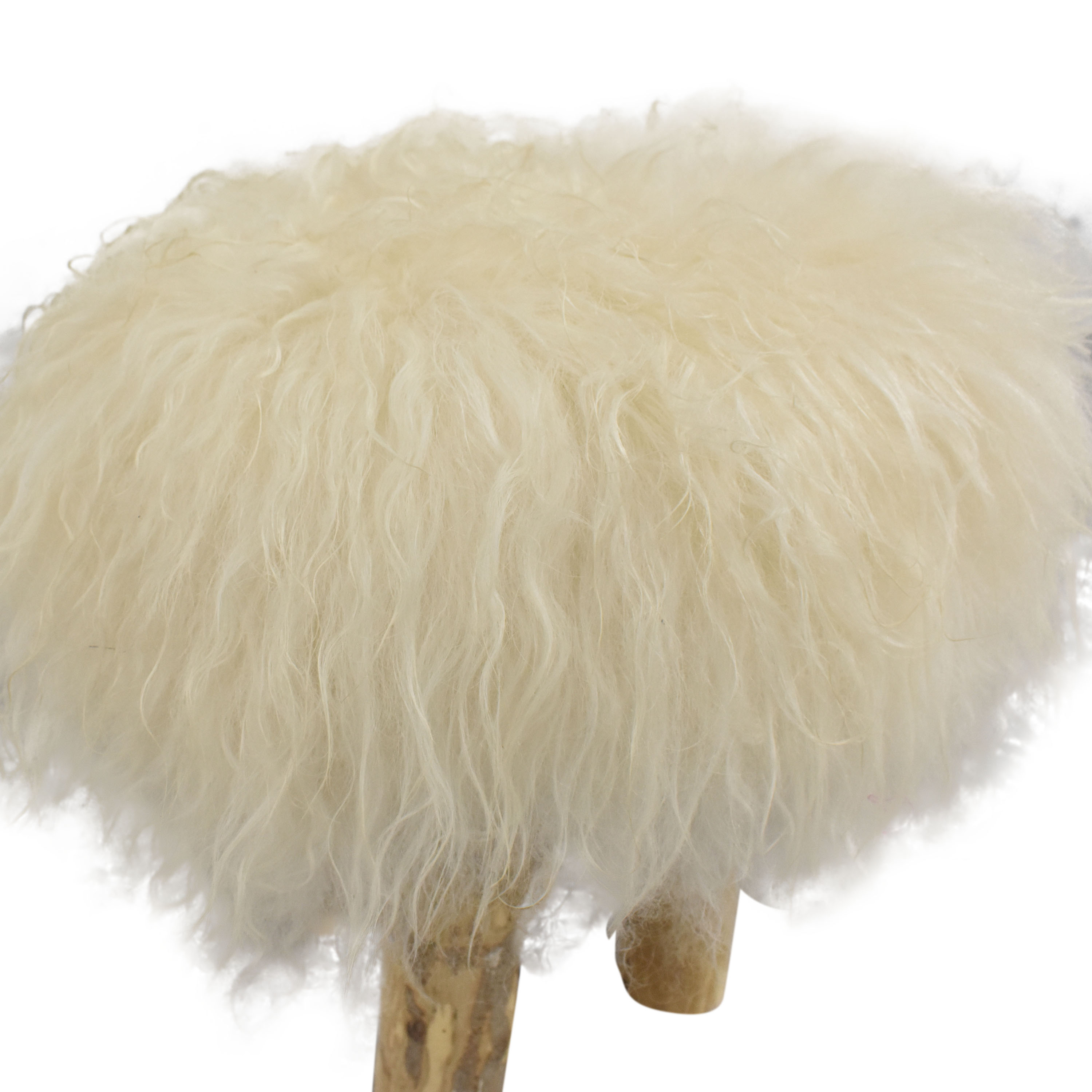 Home Nature Fluffy Stool second hand