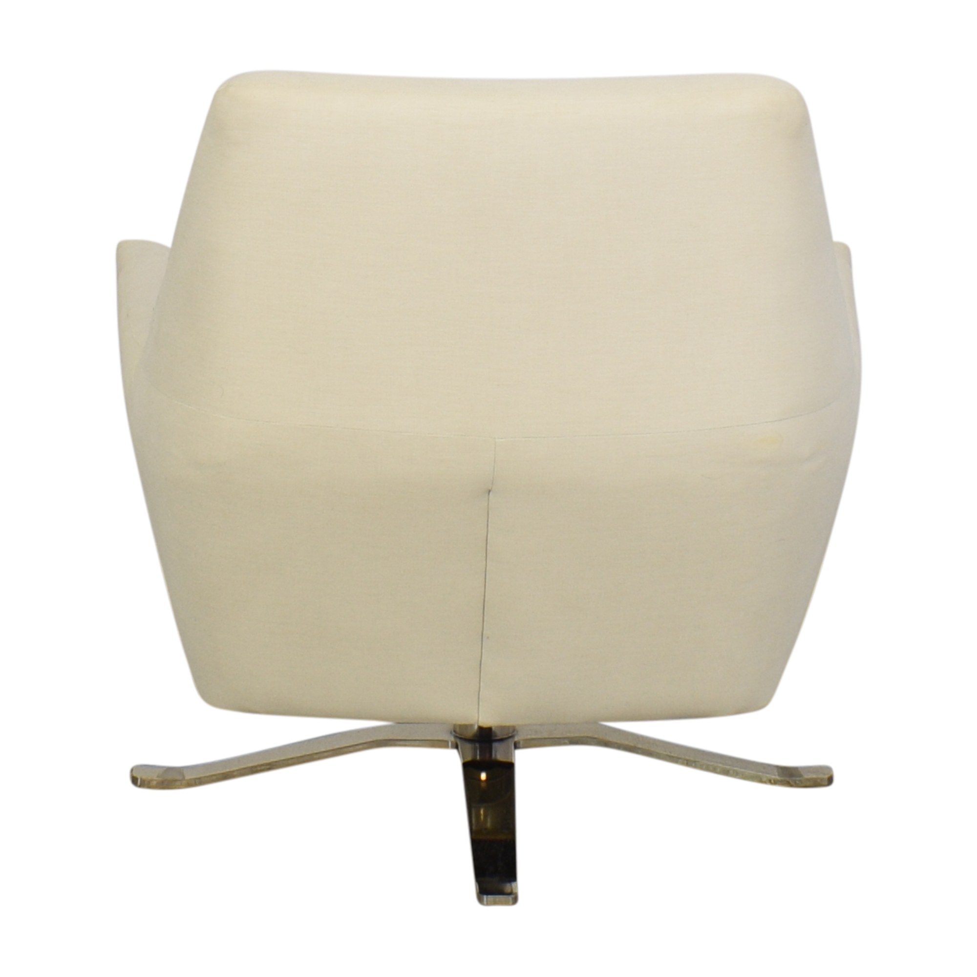 West Elm West Elm Lucas Swivel Chair cream