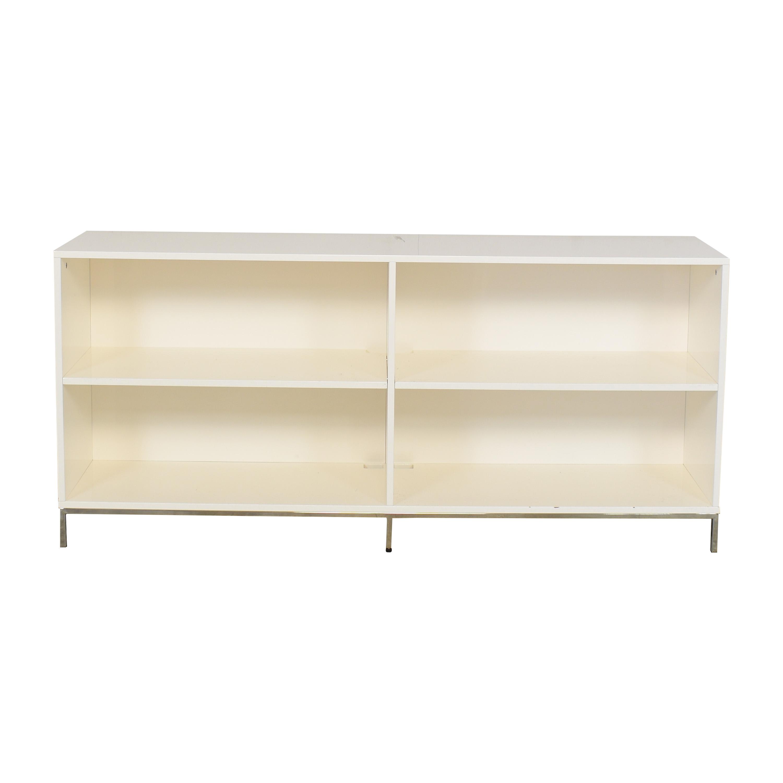 West Elm West Elm Lacquer Storage Bookshelf Bookcases & Shelving