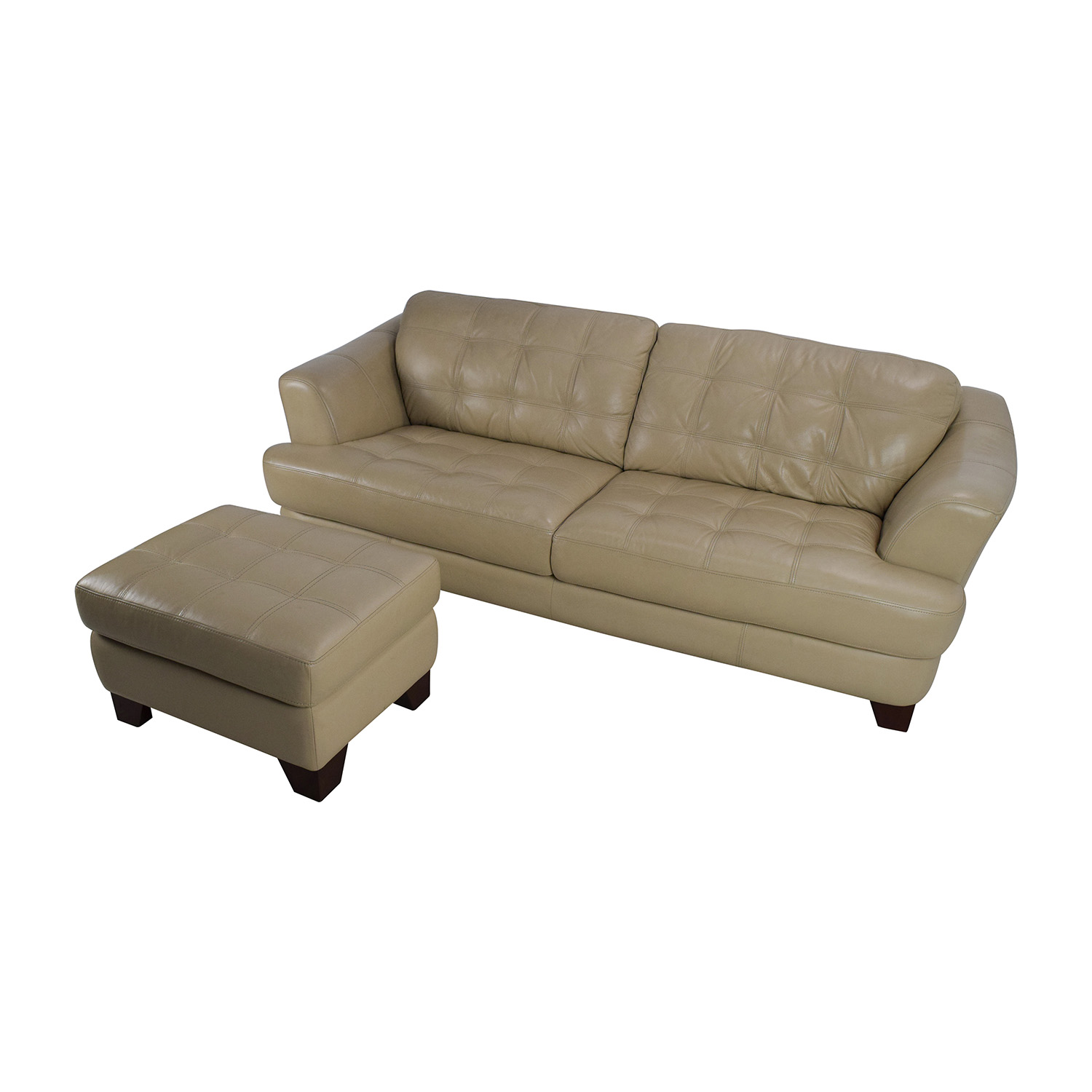 65% OFF Bob s Furniture Bob s Furniture Leather Couch with