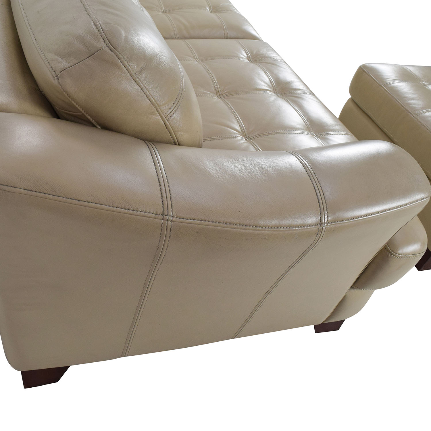 Bobs Furniture Leather Sofa No Phony Gimmicks Just Pure