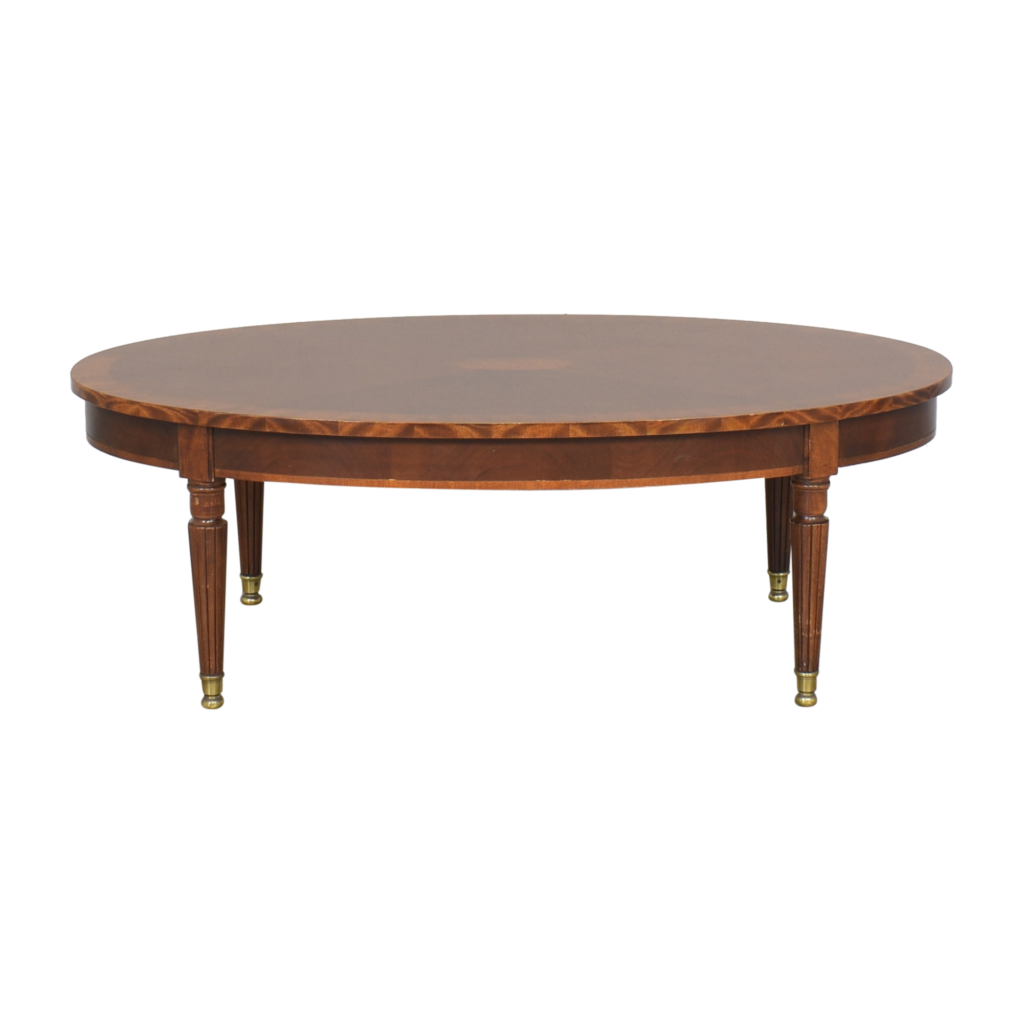 buy Henredon Oval Coffee Table Henredon Furniture