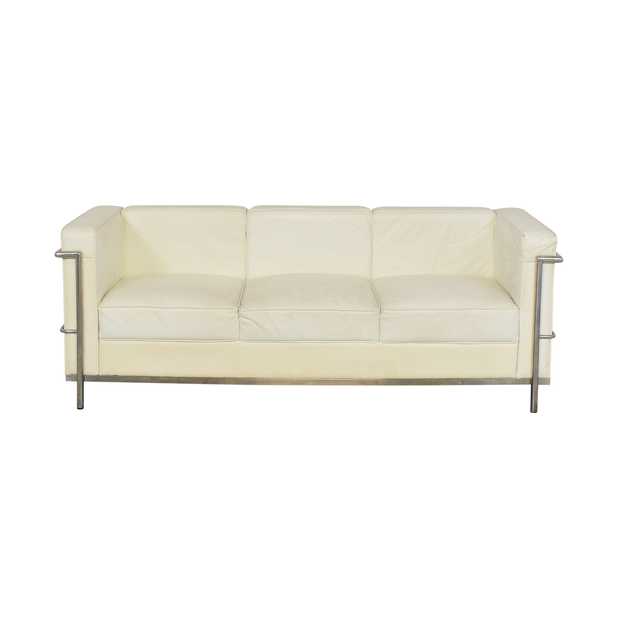 LC2-Style Three Cushion Sofa / Classic Sofas