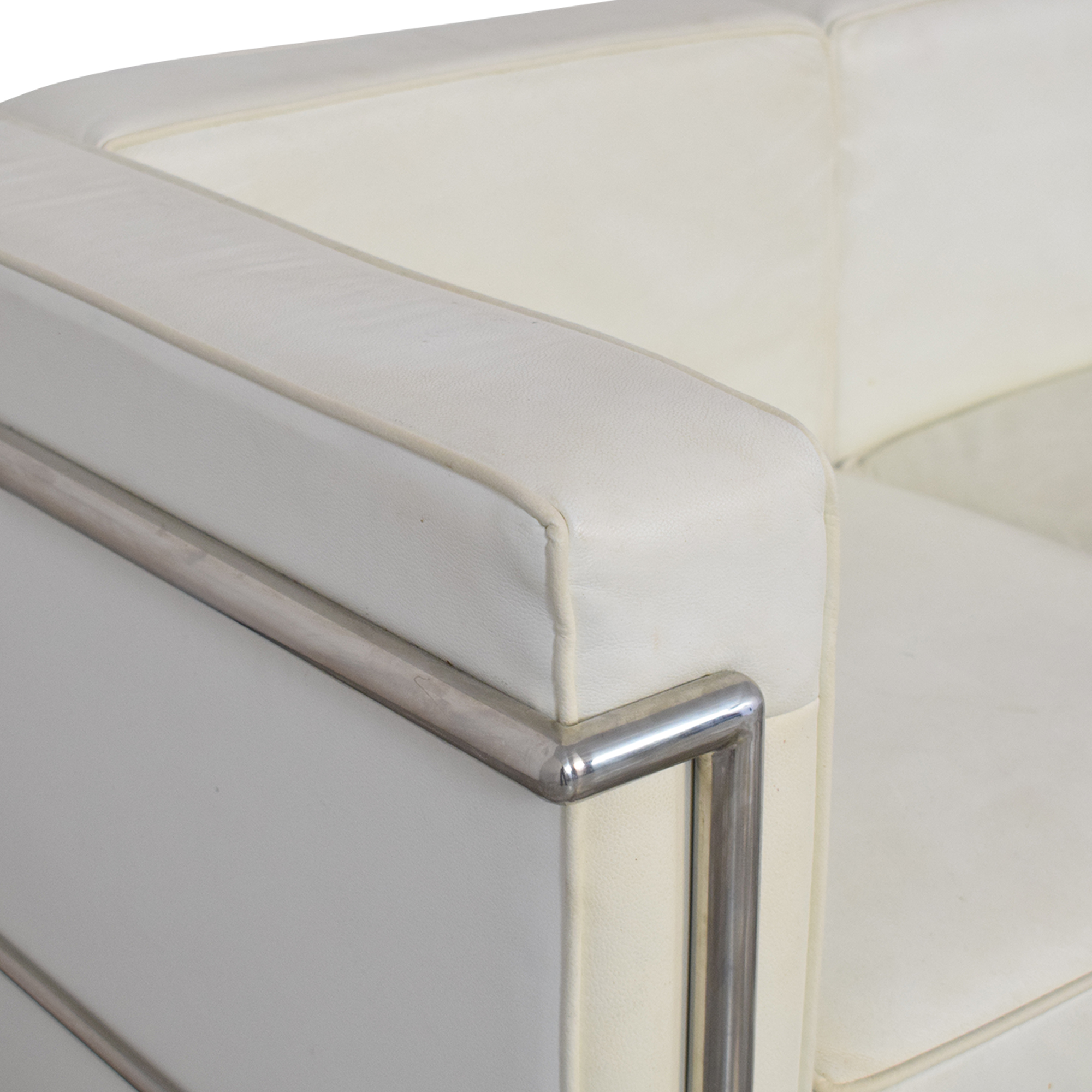 LC2-Style Three Cushion Sofa price