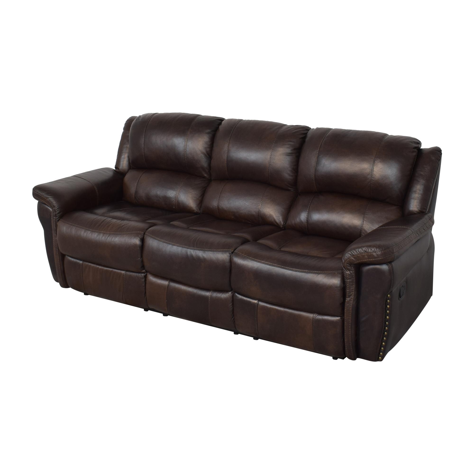 Delancey Street Furniture Recliner Sofa on sale