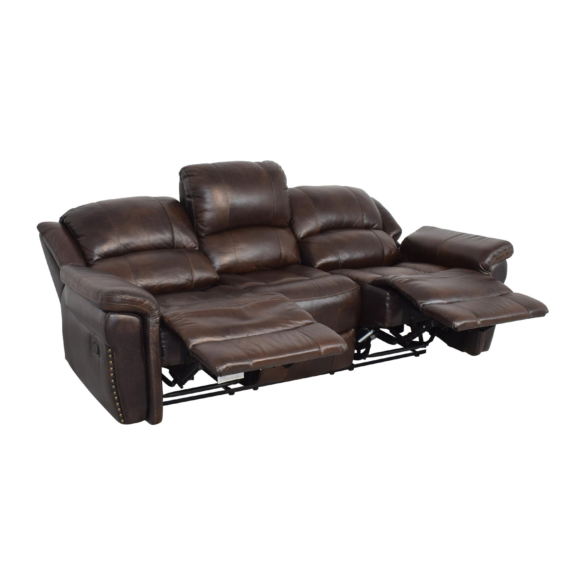 Delancey Street Furniture Recliner Sofa / Classic Sofas