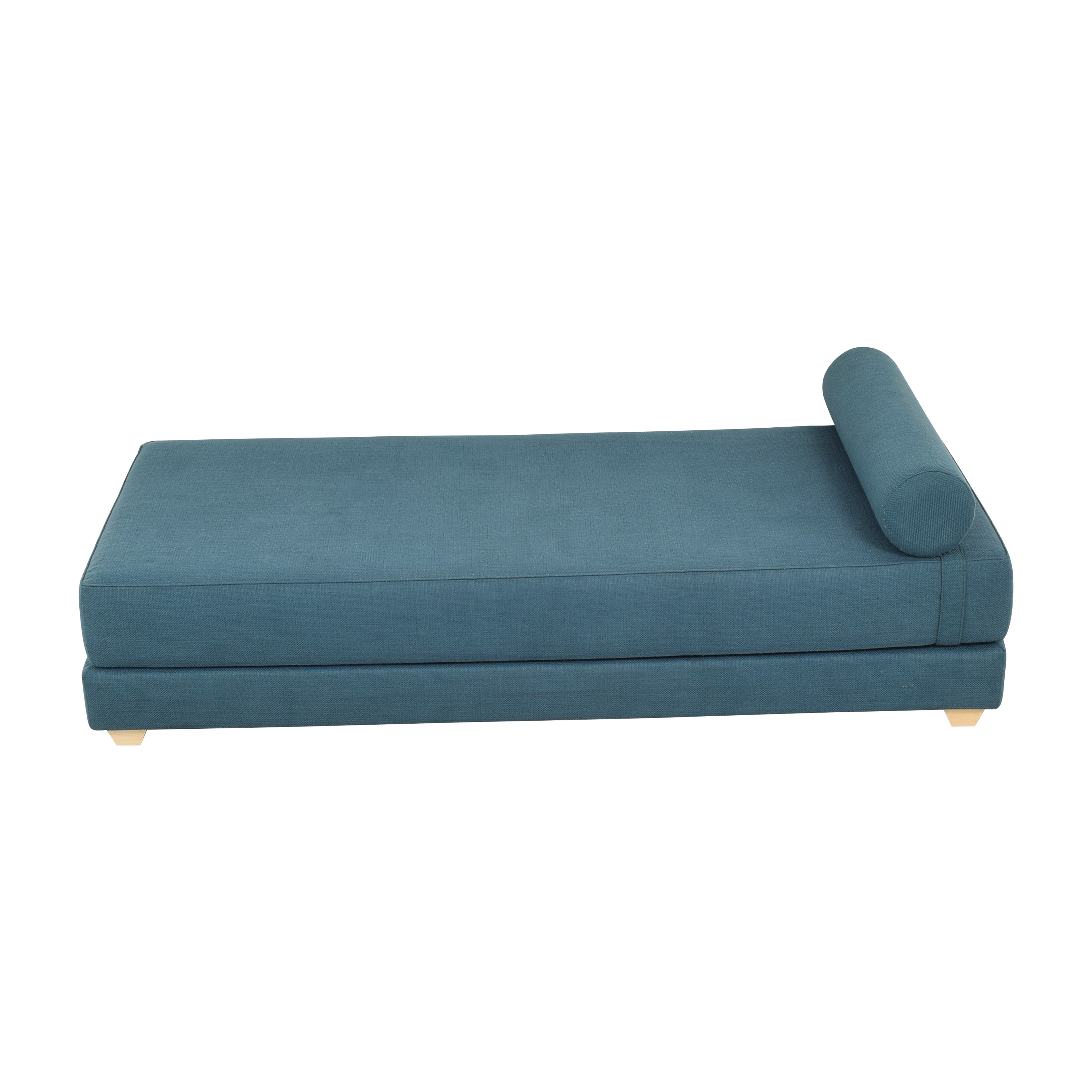 CB2 CB2 Lubi Blue Daybed Sleeper second hand