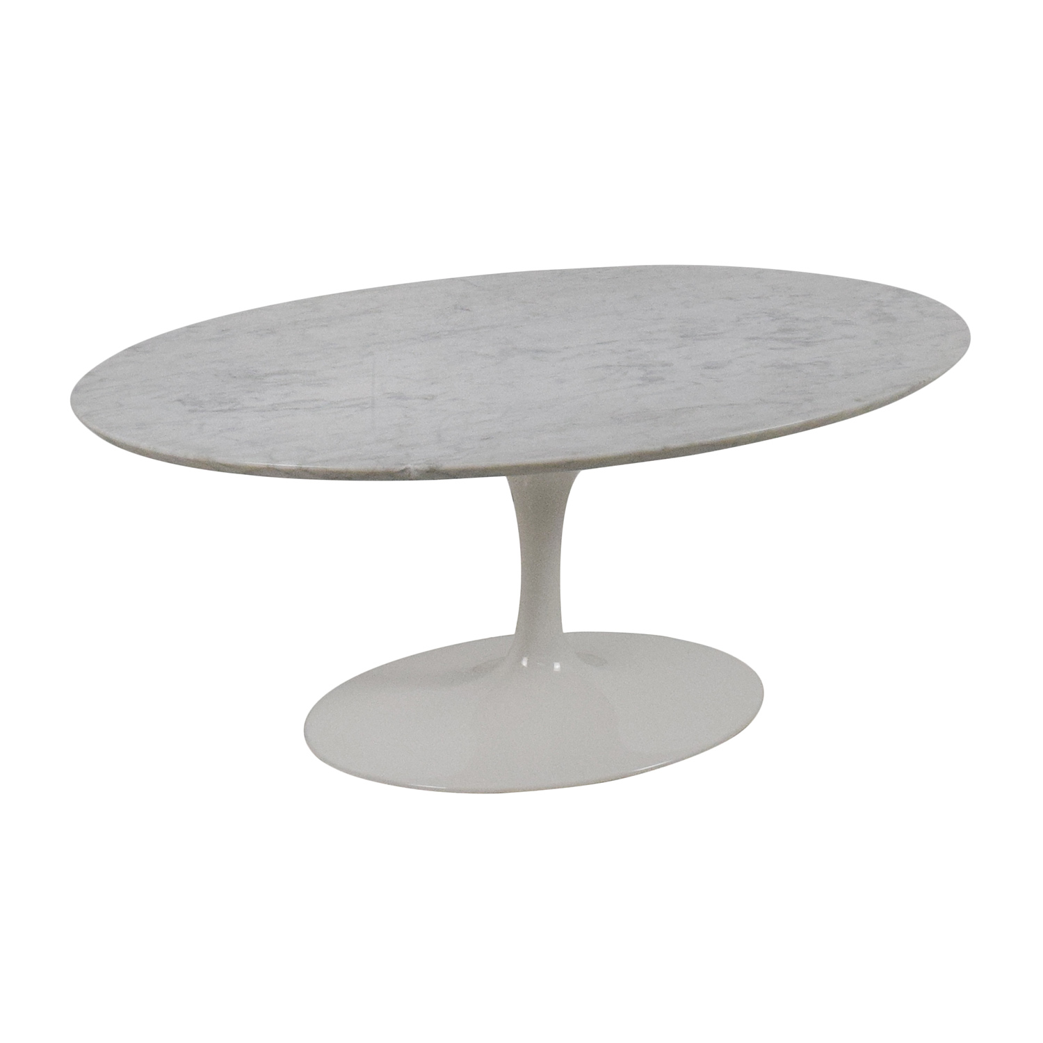 62 Off Knoll Knoll Saarinen Oval Coffee Table Tables
