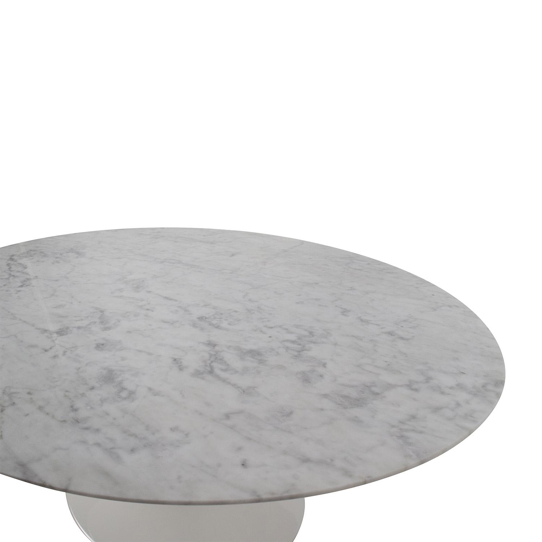 62 Off Knoll Knoll Saarinen Oval Coffee Table Tables