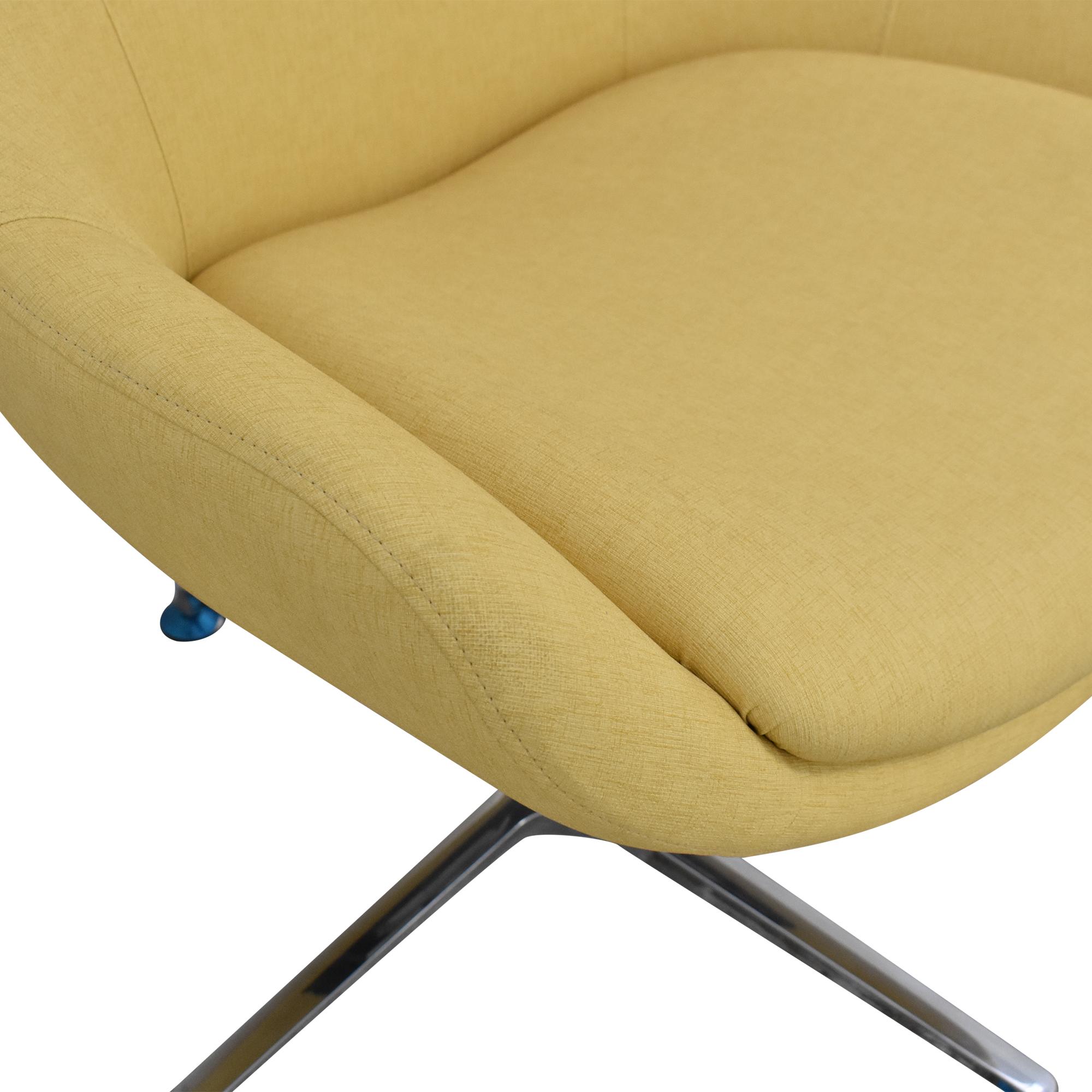 Kimball Kimball Bloom Swivel Lounge Chair second hand