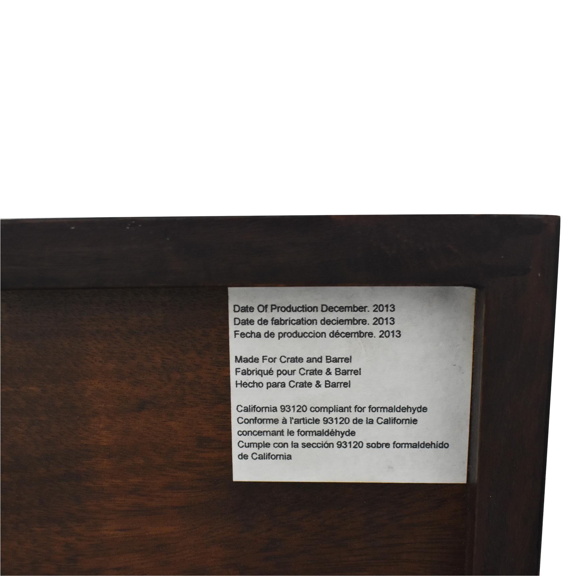 Crate & Barrel Crate & Barrel Steppe Six Drawer Dresser nj