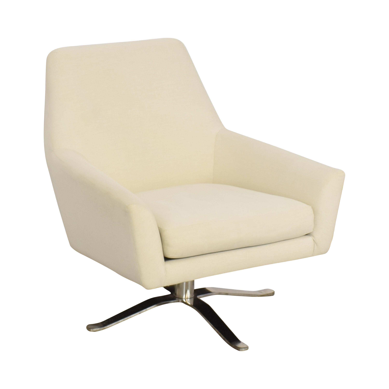 West Elm West Elm Lucas Swivel Chair coupon