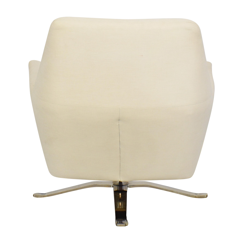 shop West Elm West Elm Lucas Swivel Chair online
