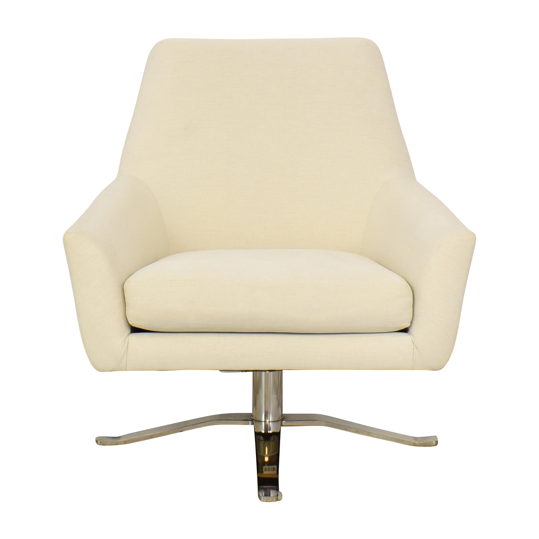 shop West Elm Lucas Swivel Chair West Elm Chairs