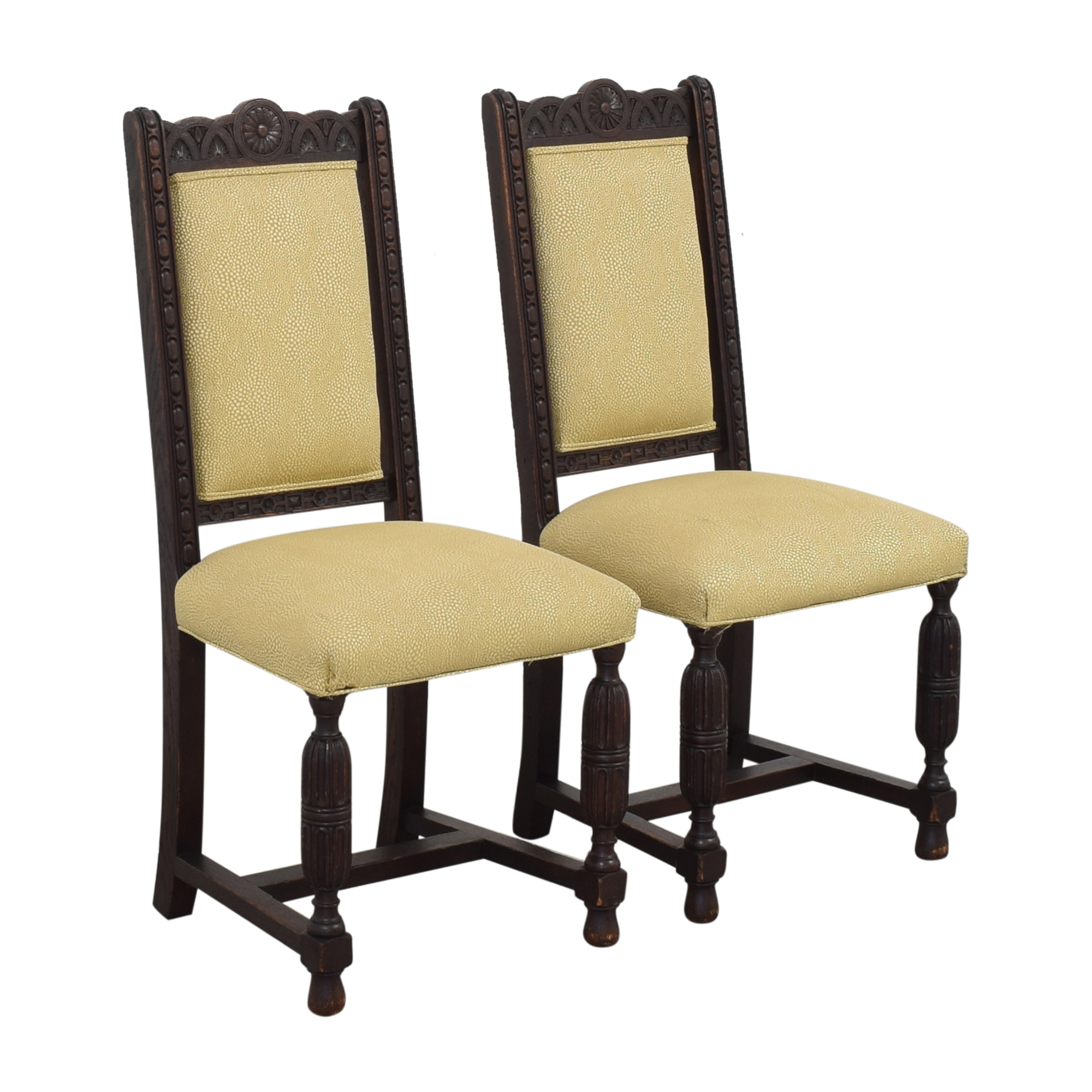 Vintage H. Lauzon Dining Chairs second hand