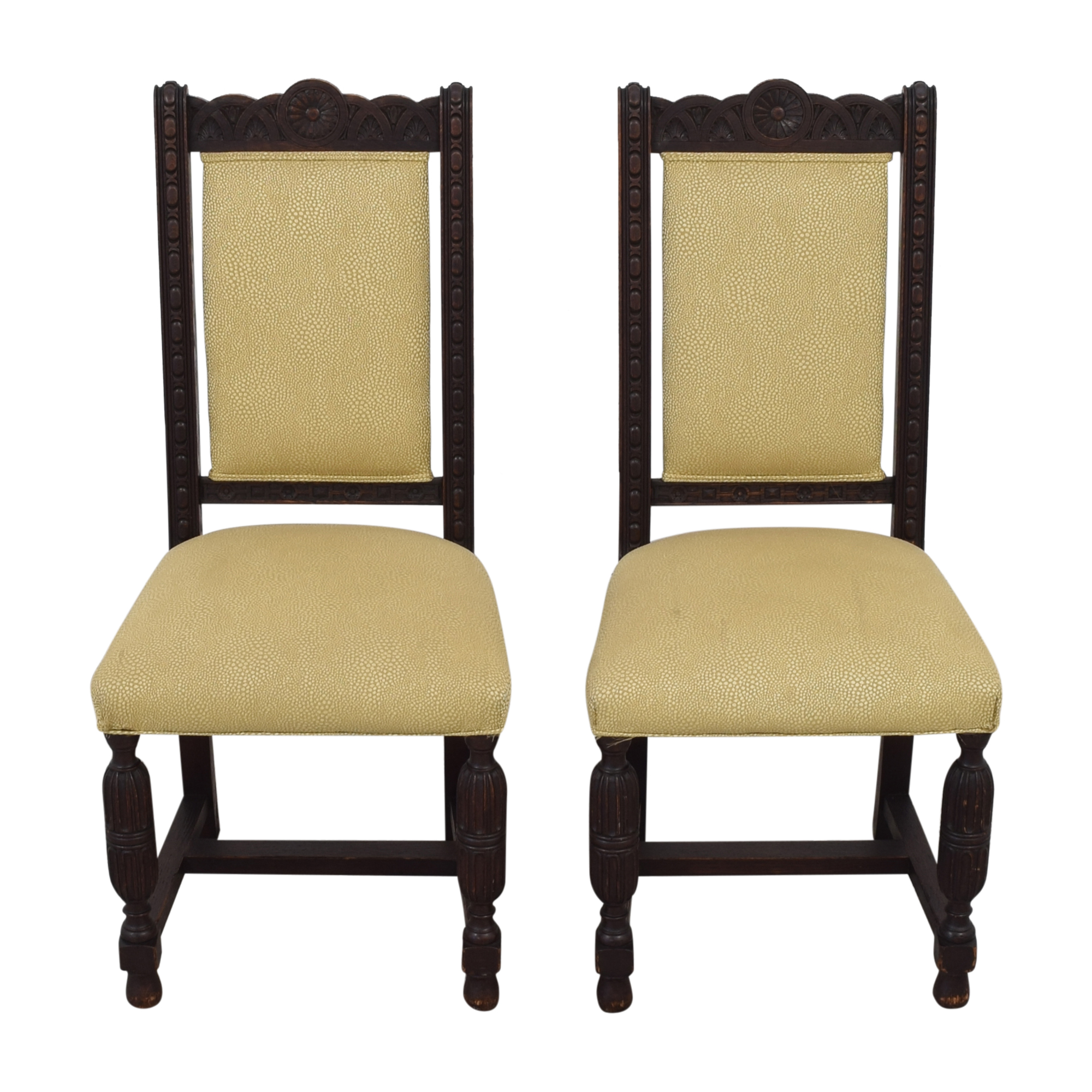 Vintage H. Lauzon Dining Chairs Chairs