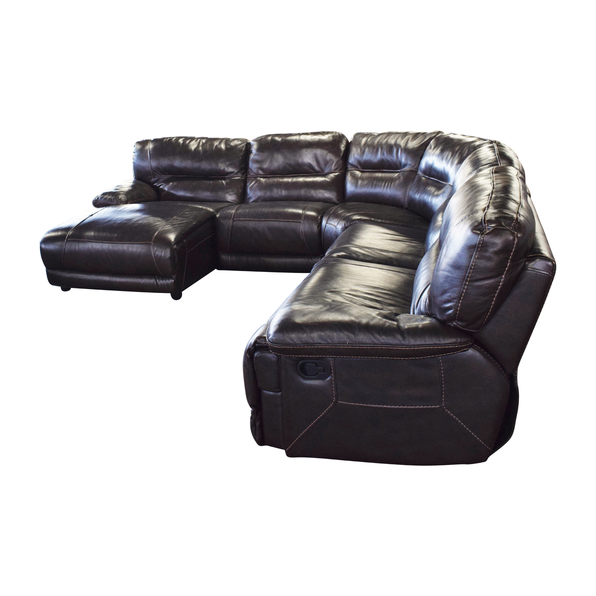 Curved Reclining Sectional Sofa Sectionals