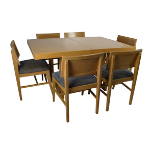 Mid-Century Extension Dining Table and Six Chairs on sale