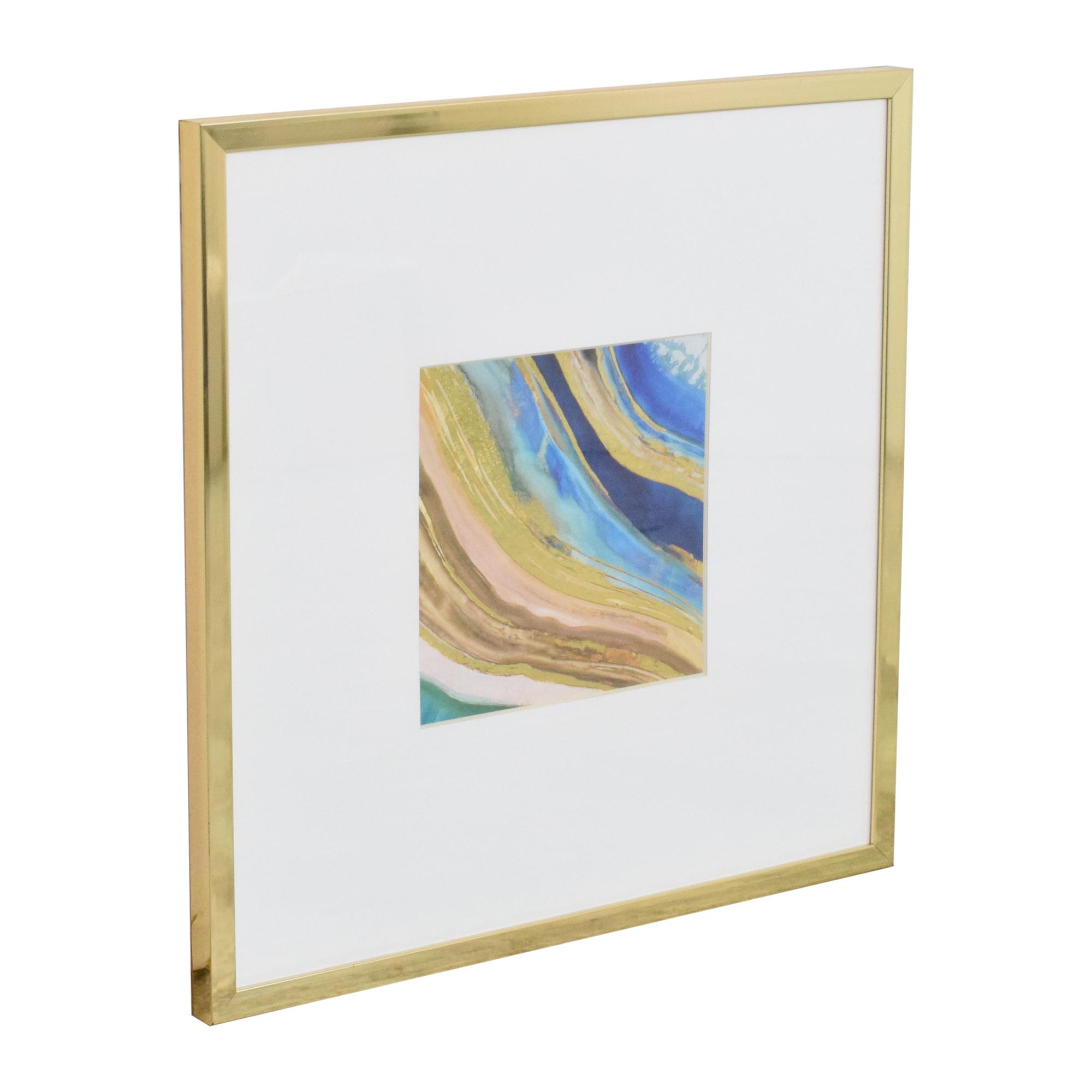 Z Gallerie Z-Gallerie Agate in Peacock 2 Wall Art price