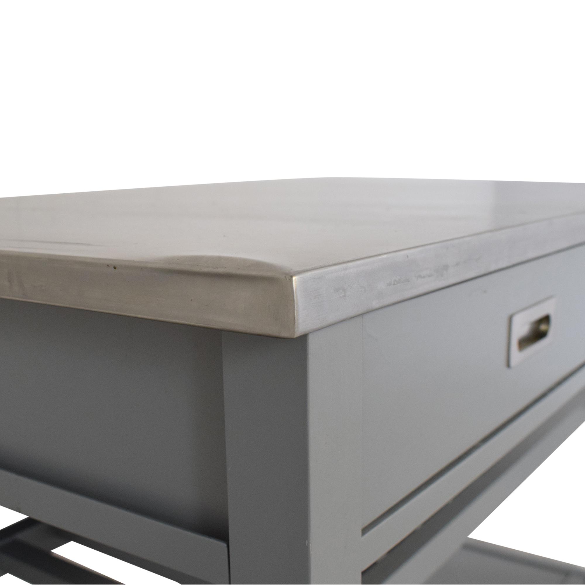 Crate & Barrel Belmont Open Kitchen Island / Tables