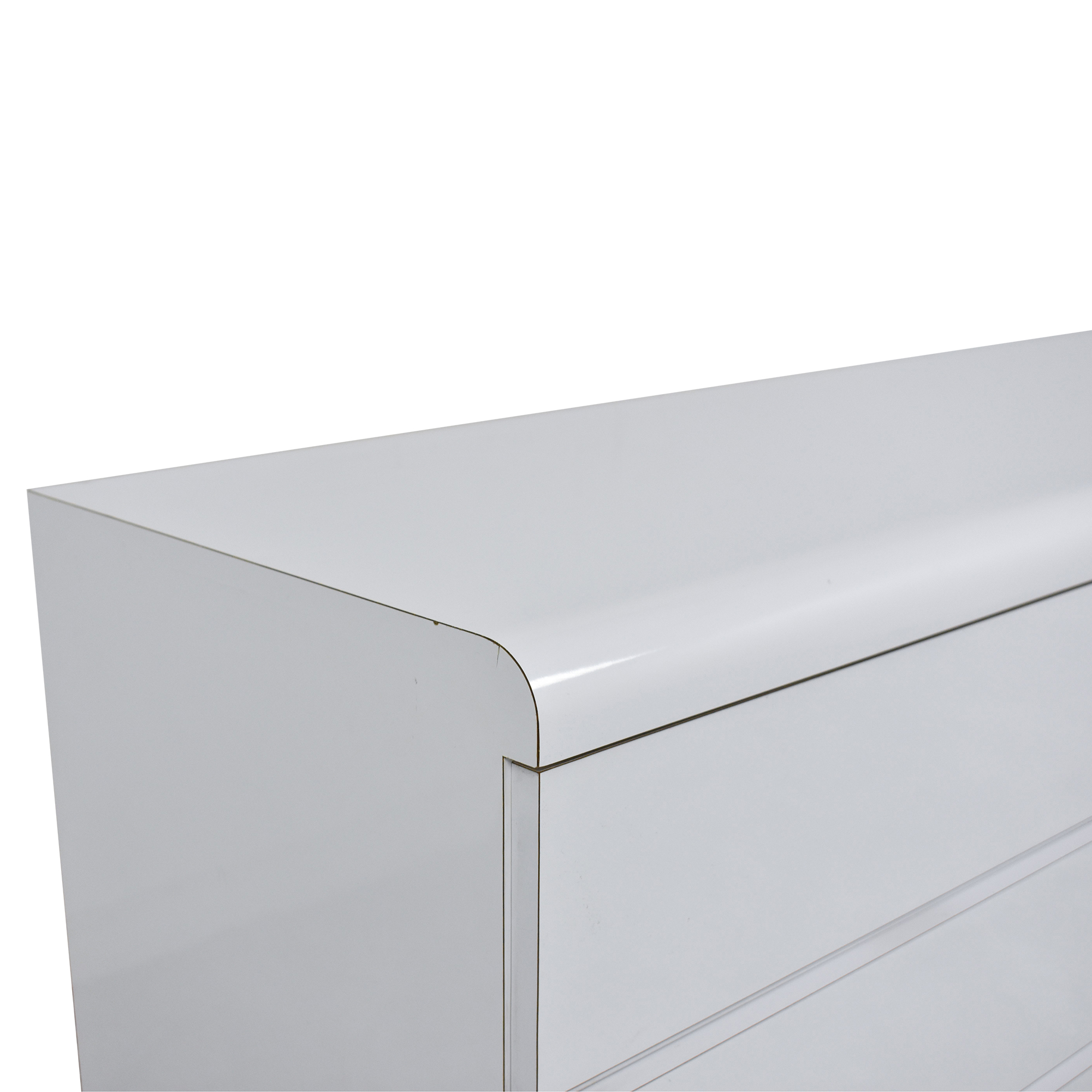 Modern Six Drawer Double Dresser Dressers