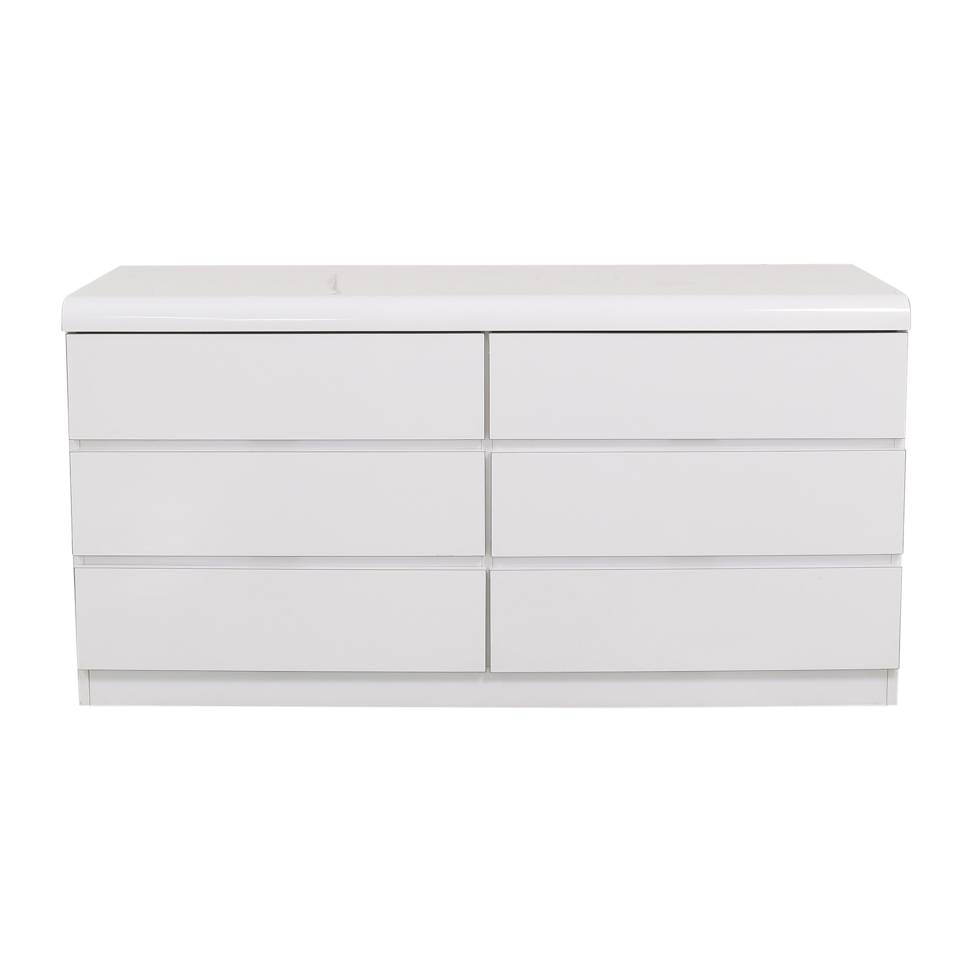 Modern Six Drawer Double Dresser sale