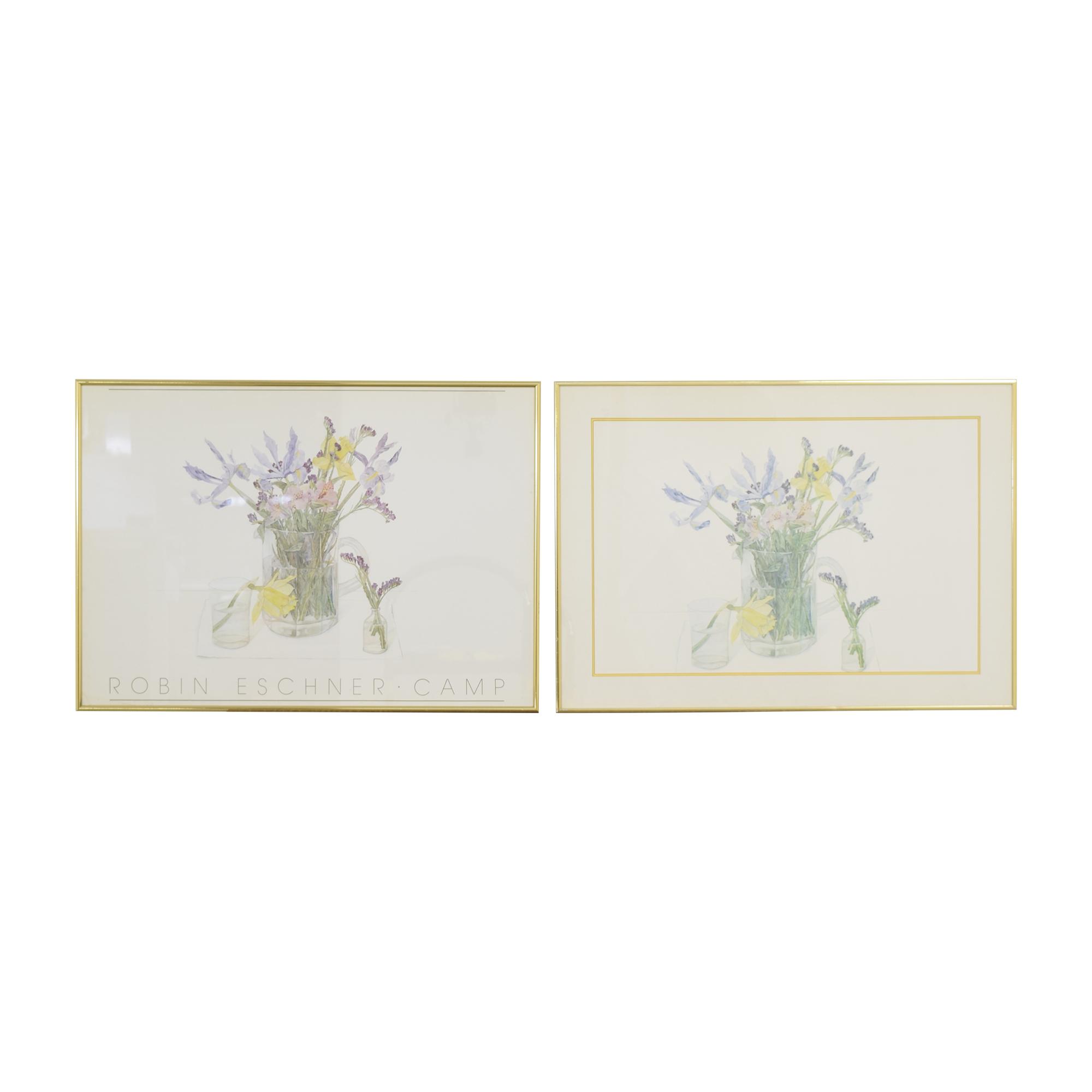 The Framery Floral Wall Art Decor