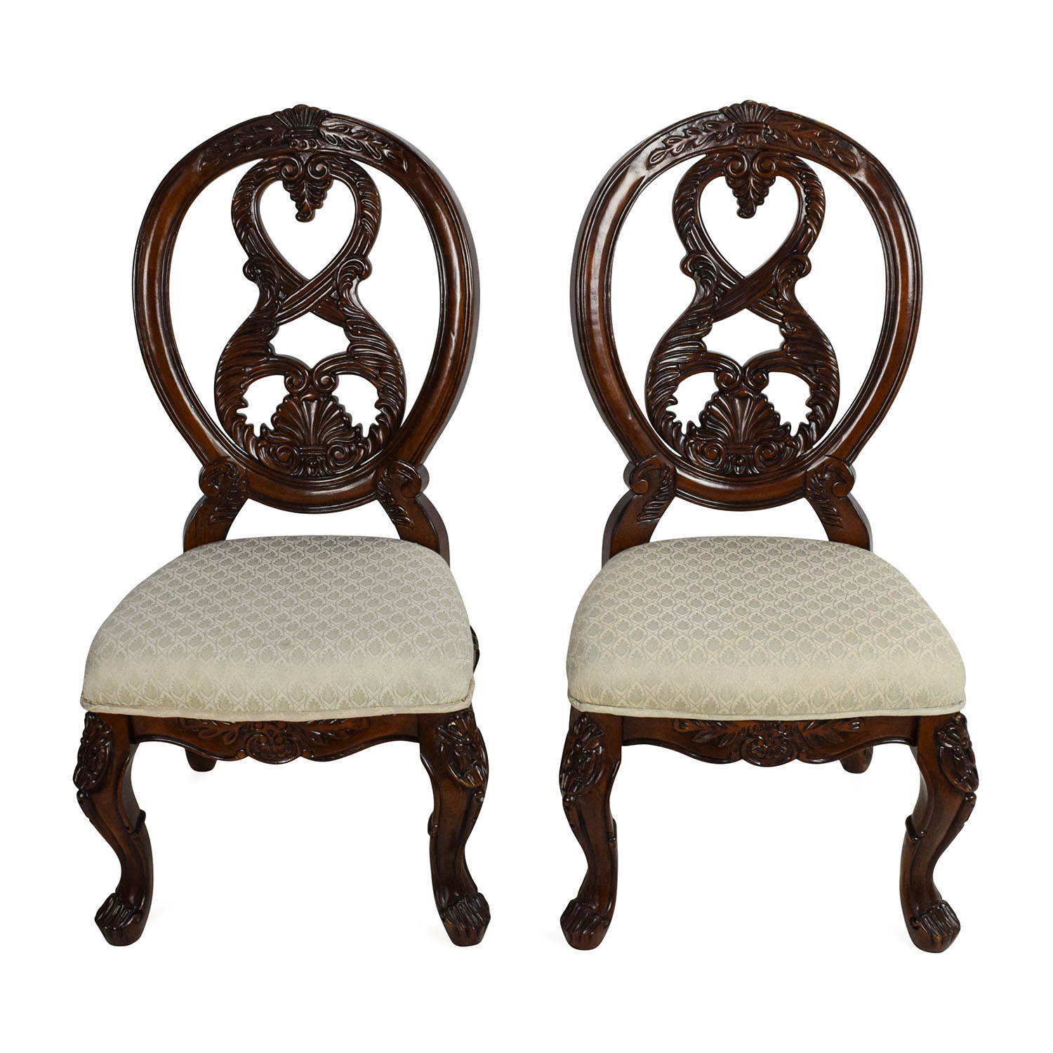 ... Tuscany II Tuscany II Traditional Dining Chair Pair ...  sc 1 st  Furnishare & 90% OFF - Tuscany II Tuscany II Traditional Dining Chair Pair / Chairs