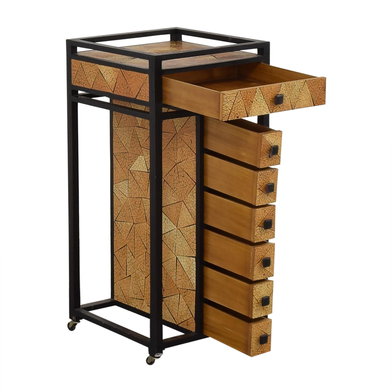 shop R & Y Agousti Hancrafted Artisnal Cabinet on Castors R & Y Augousti Accent Tables