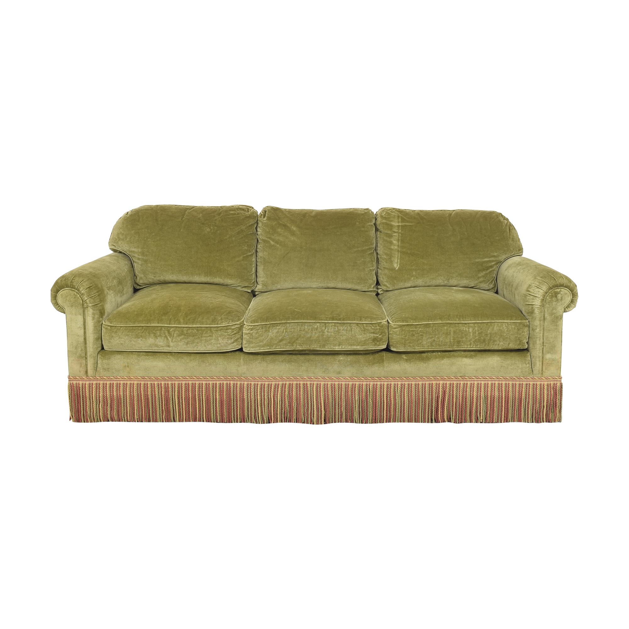 Ferrell Mittman Edward Ferrell Ltd. Custom Fringe Skirt Sofa nyc
