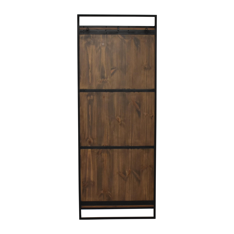 Crate & Barrel Crate & Barrel Knox Black Framed Floor Mirror coupon