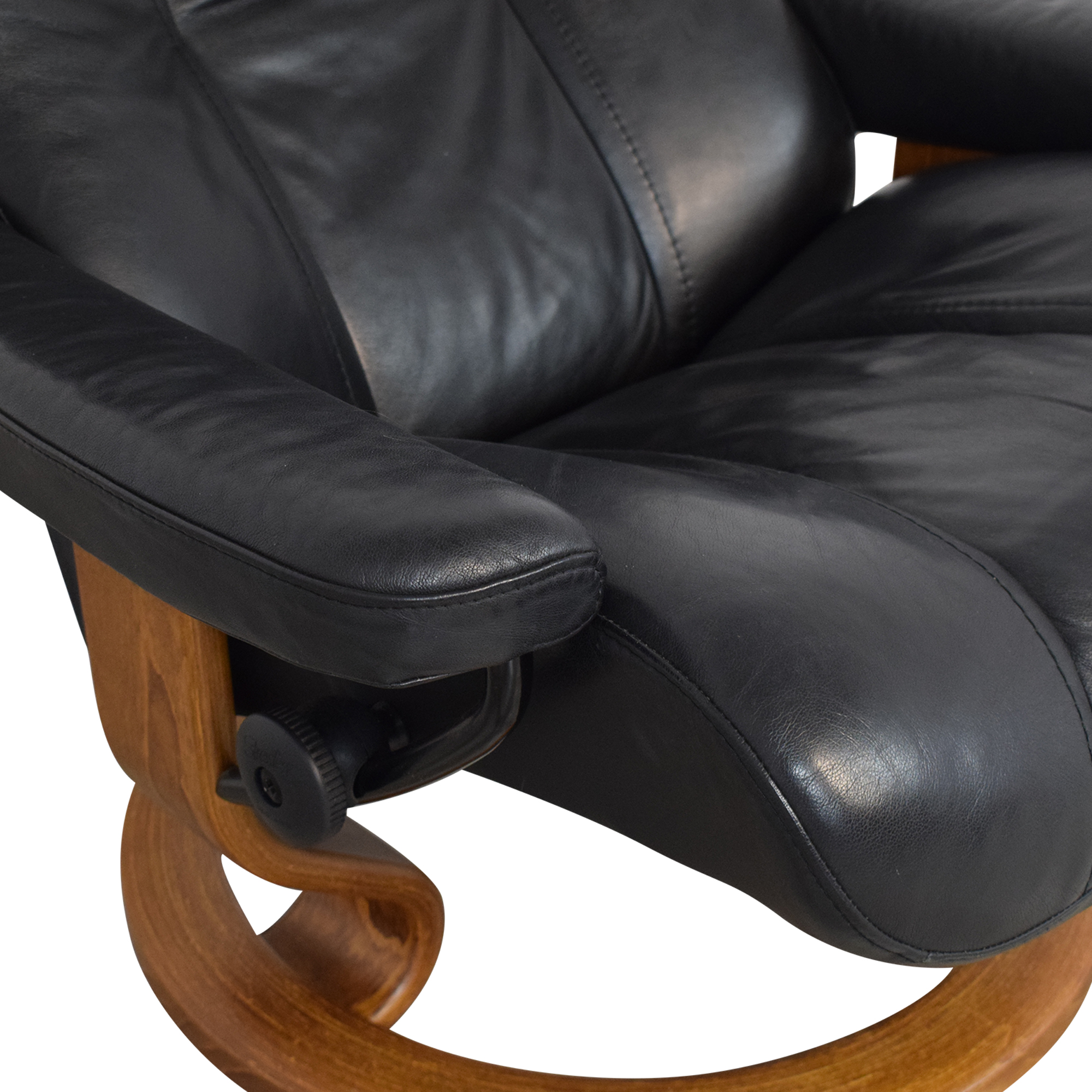 Ekornes Ekornes Stressless Chair with Ottoman dimensions