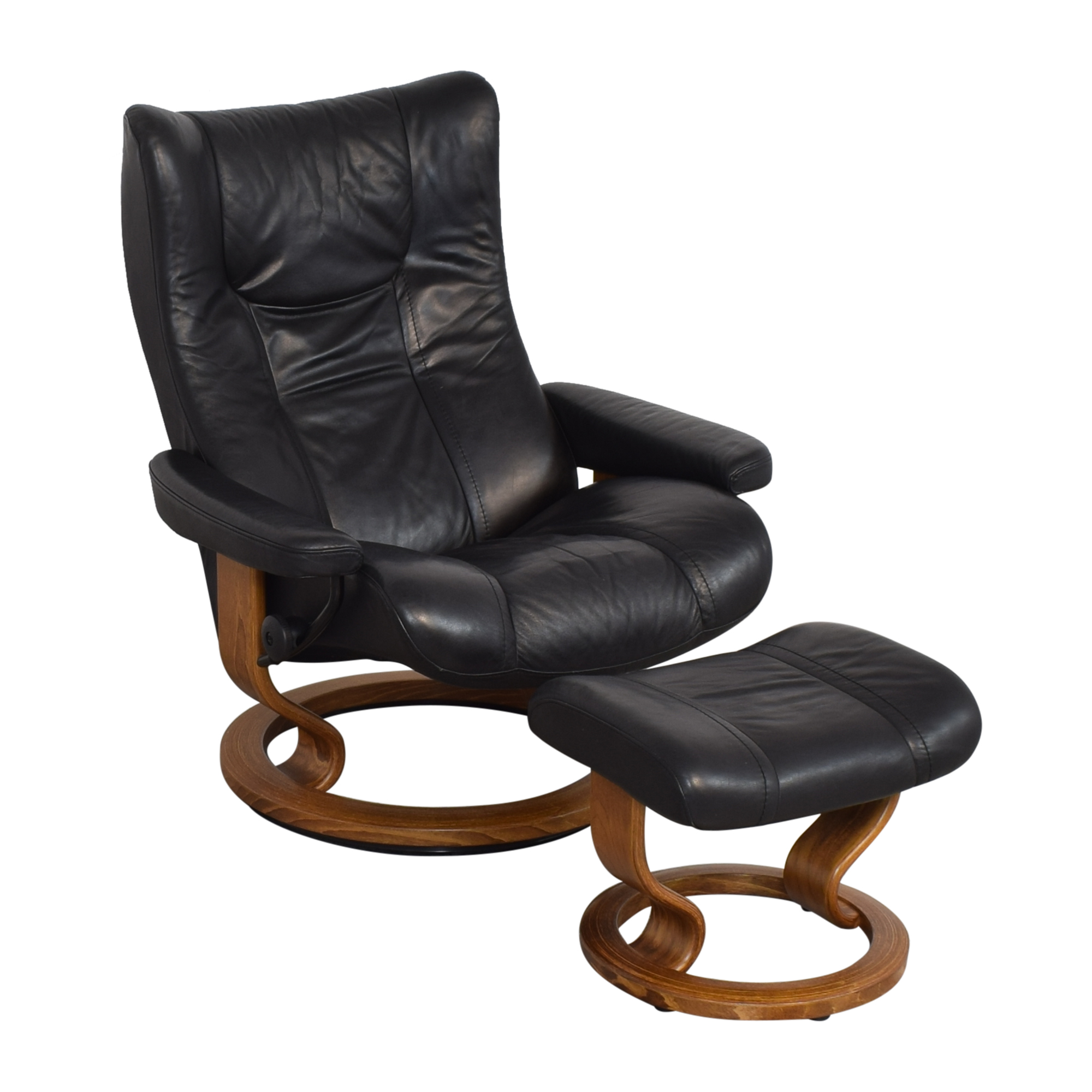 buy Ekornes Stressless Chair with Ottoman Ekornes Chairs
