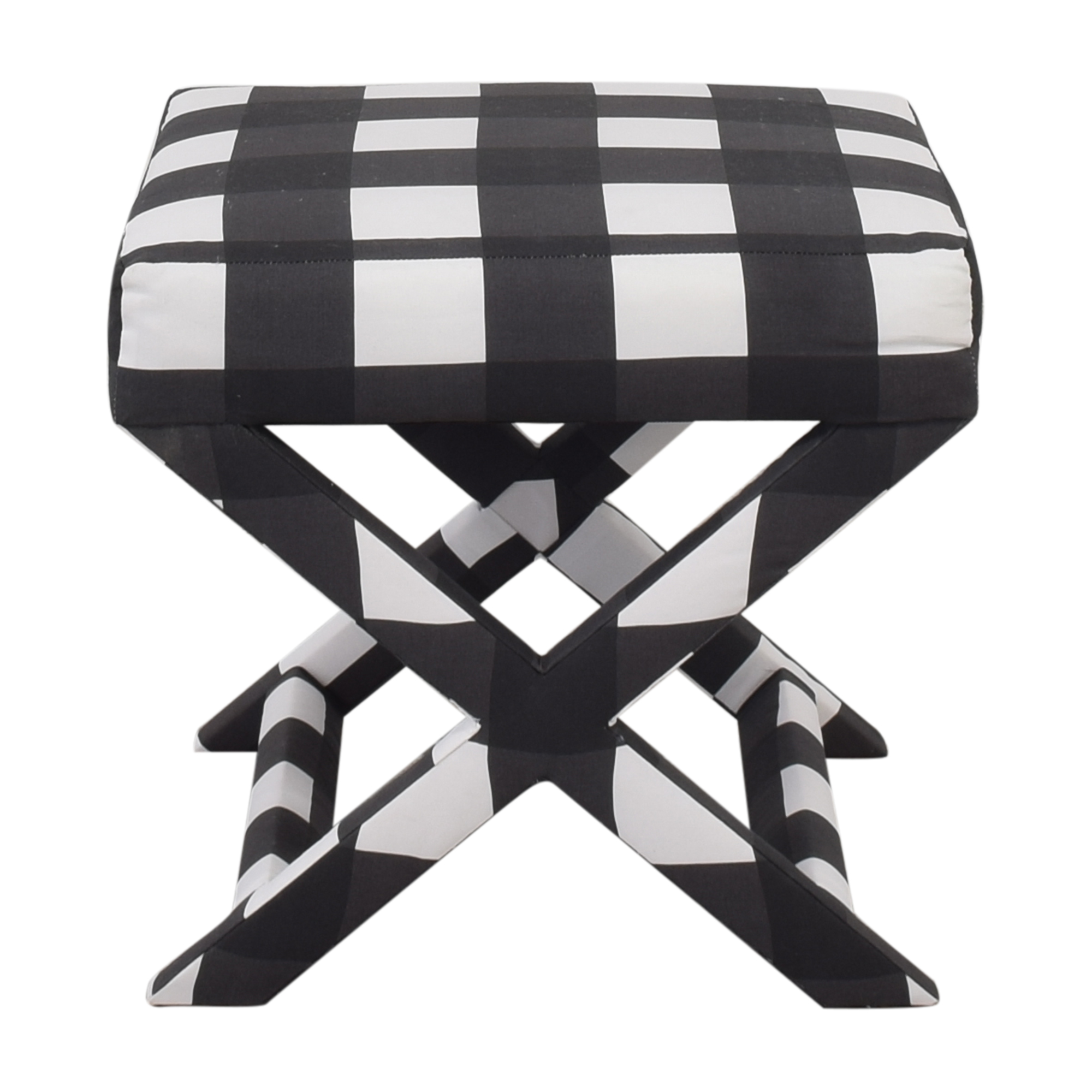 The Inside Black Check X-Bench sale