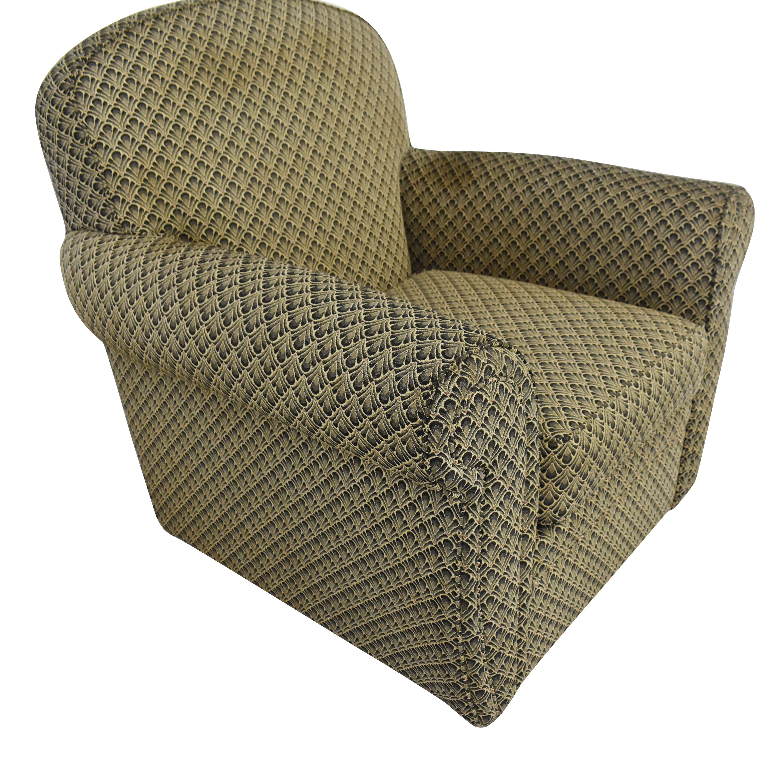 buy Ethan Allen Roll Arm Accent Chair Ethan Allen