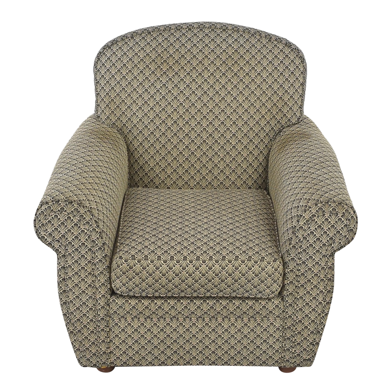 Ethan Allen Roll Arm Accent Chair sale