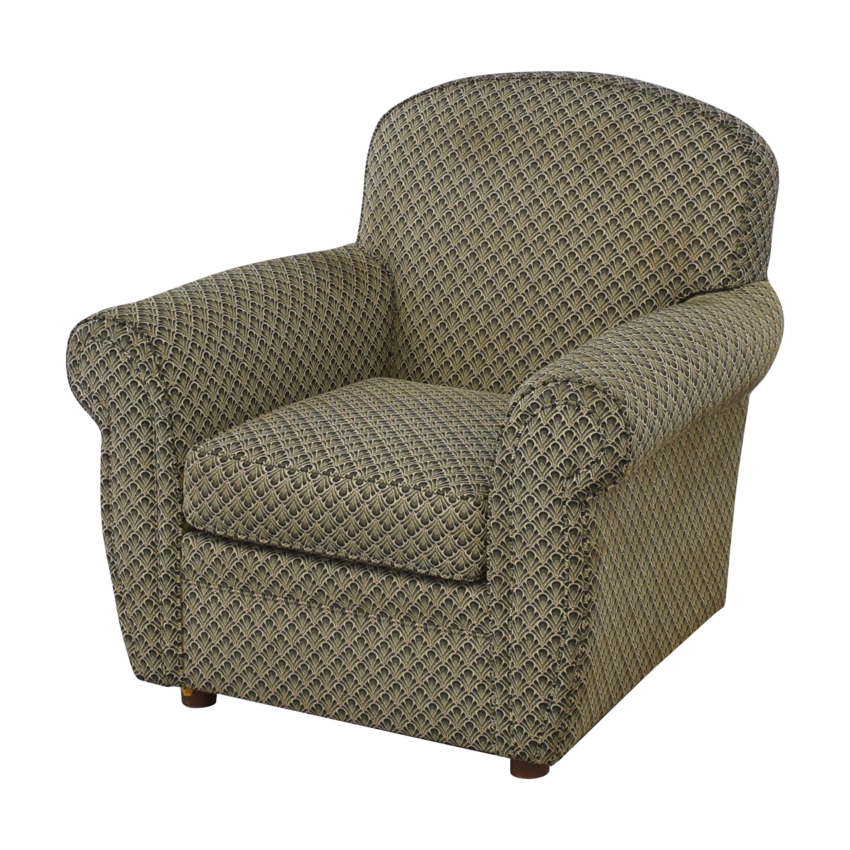 Ethan Allen Ethan Allen Roll Arm Accent Chair discount