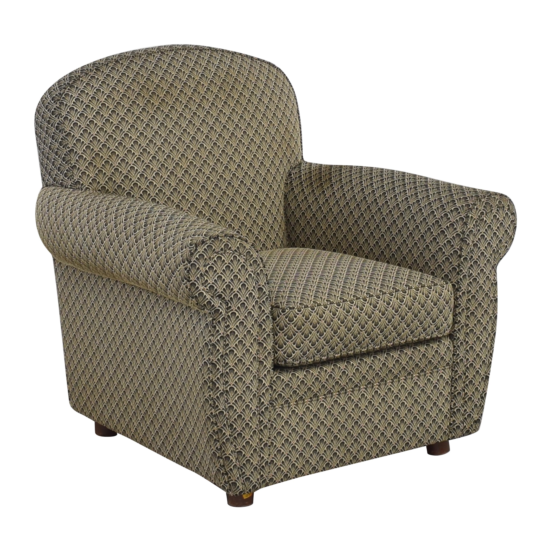 Ethan Allen Ethan Allen Roll Arm Accent Chair ct