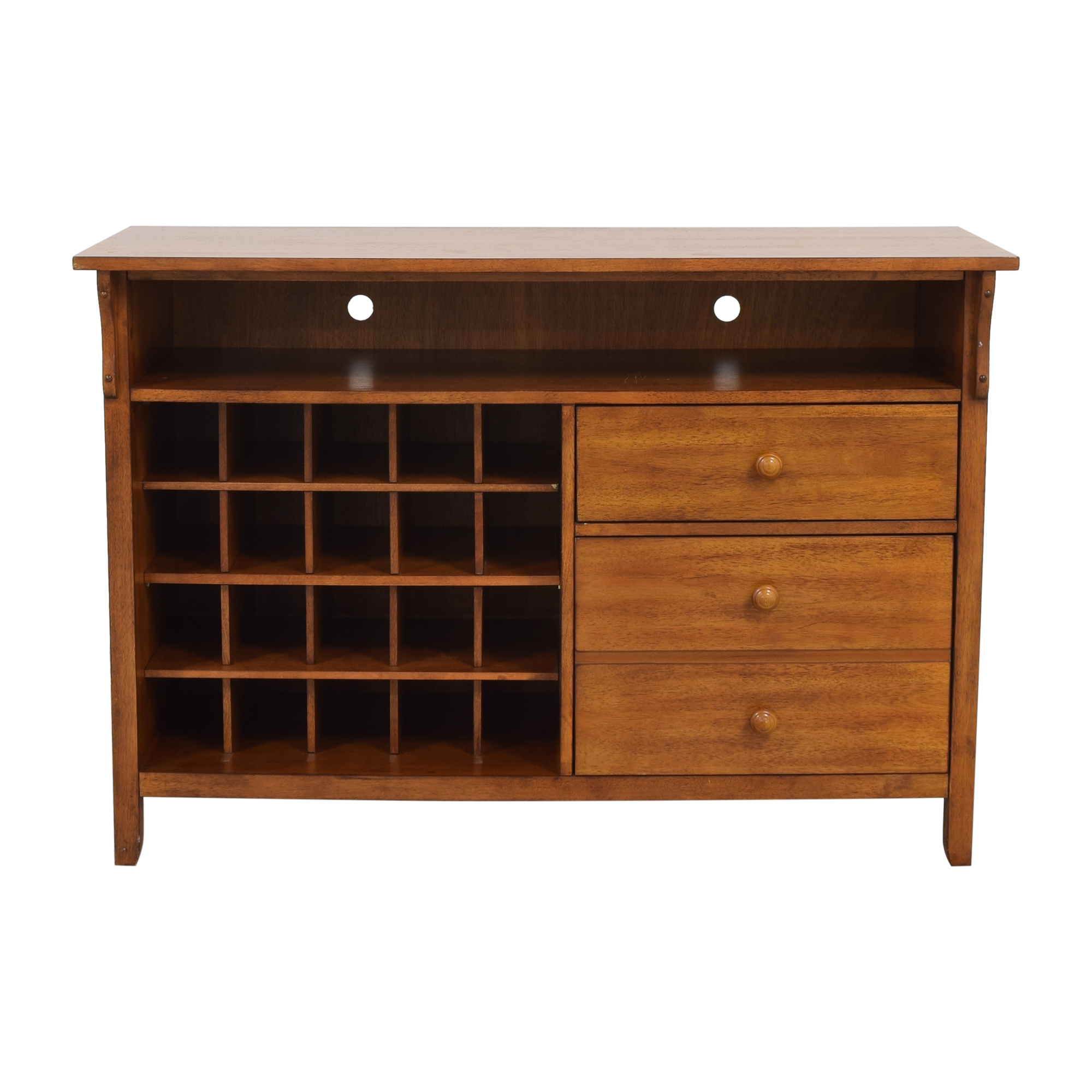 Jofran Jofran Sideboard with Wine Rack for sale