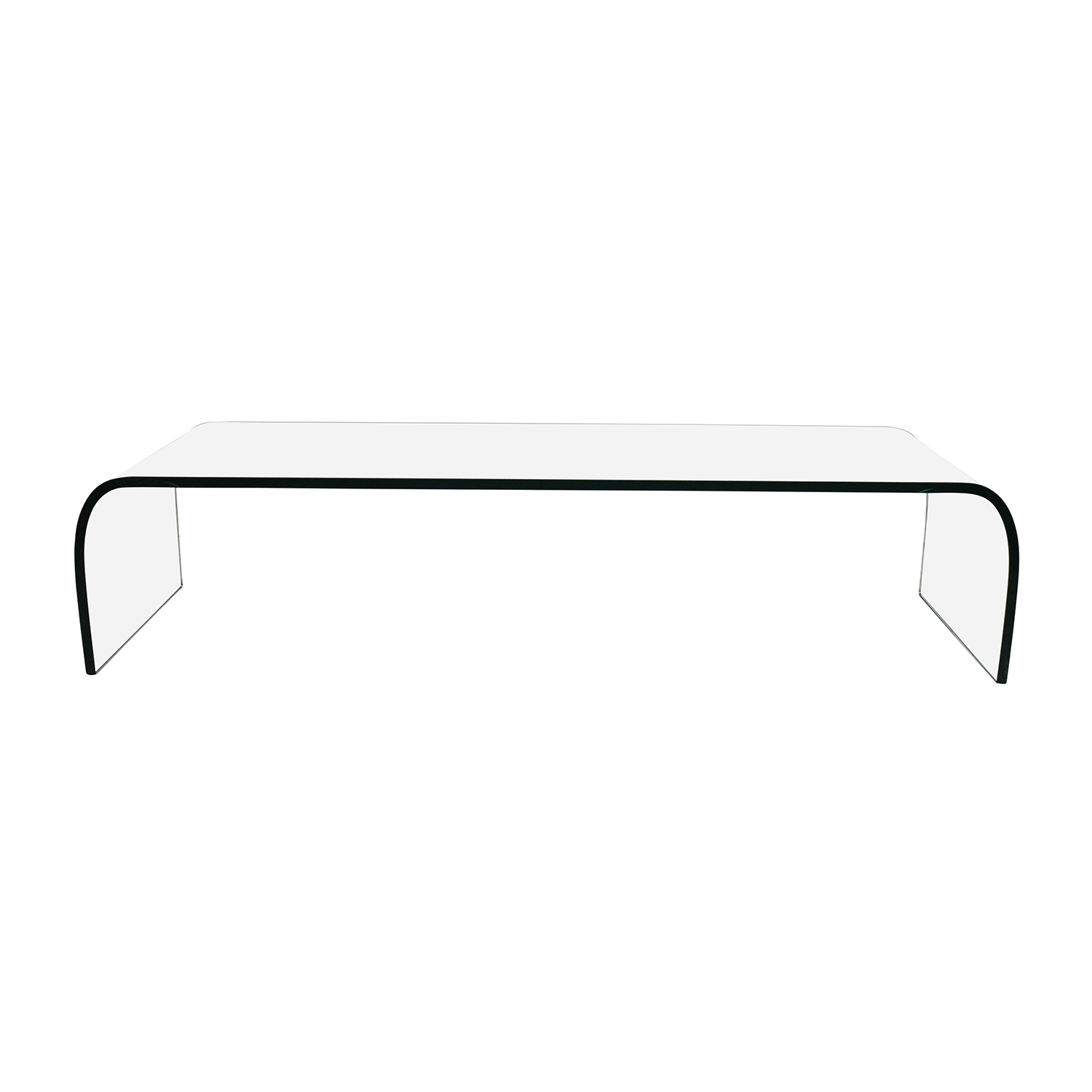 Fiam Italia Fiam Italia Ponte Glass Coffee Table Coffee Tables