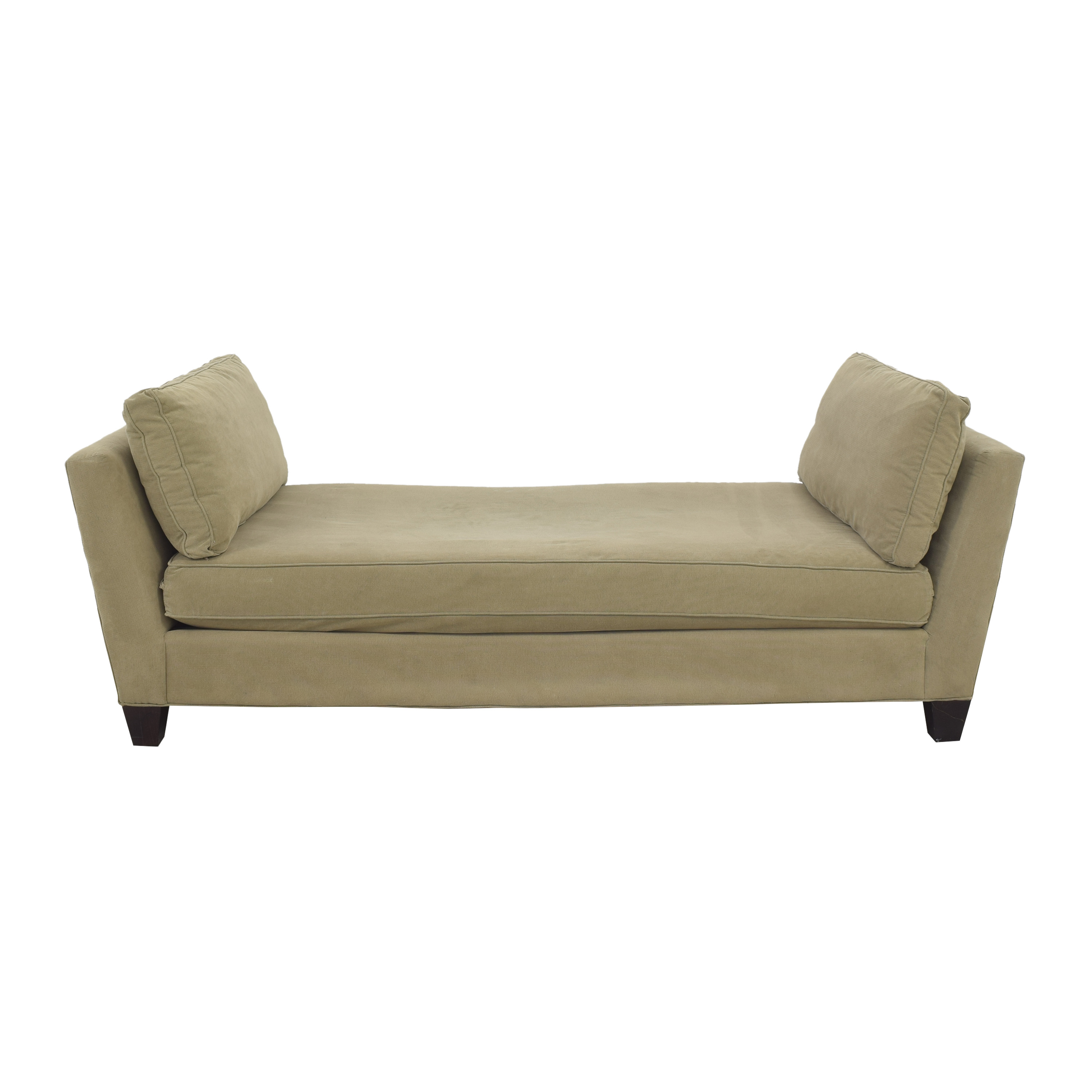 Crate & Barrel Crate & Barrel Marlowe Daybed Bench pa