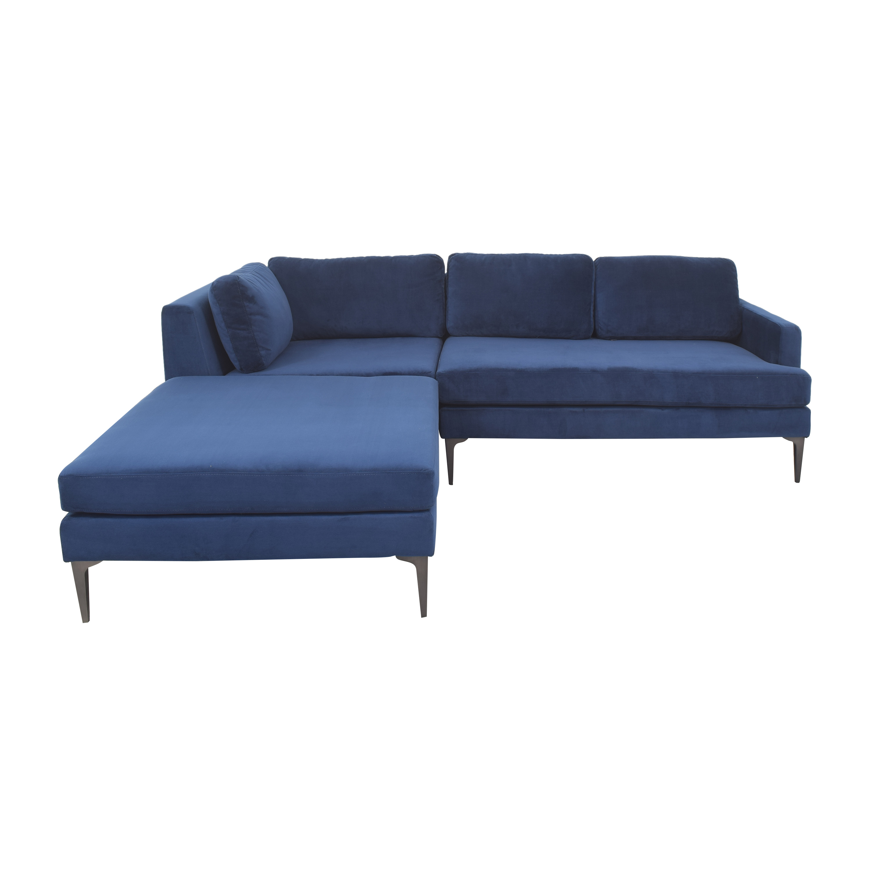 West Elm West Elm Andes 3-Piece Chaise Sectional pa