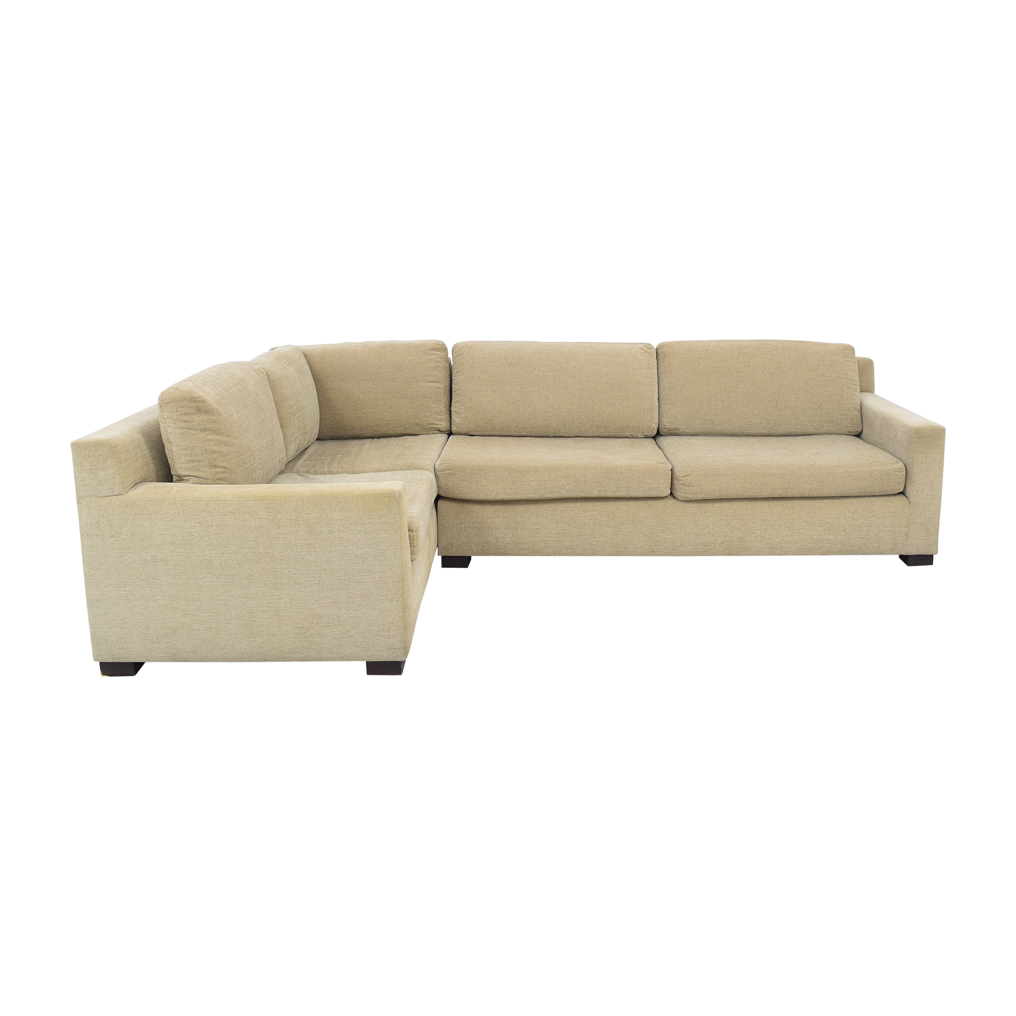 Two Piece Sectional Sofa Sectionals